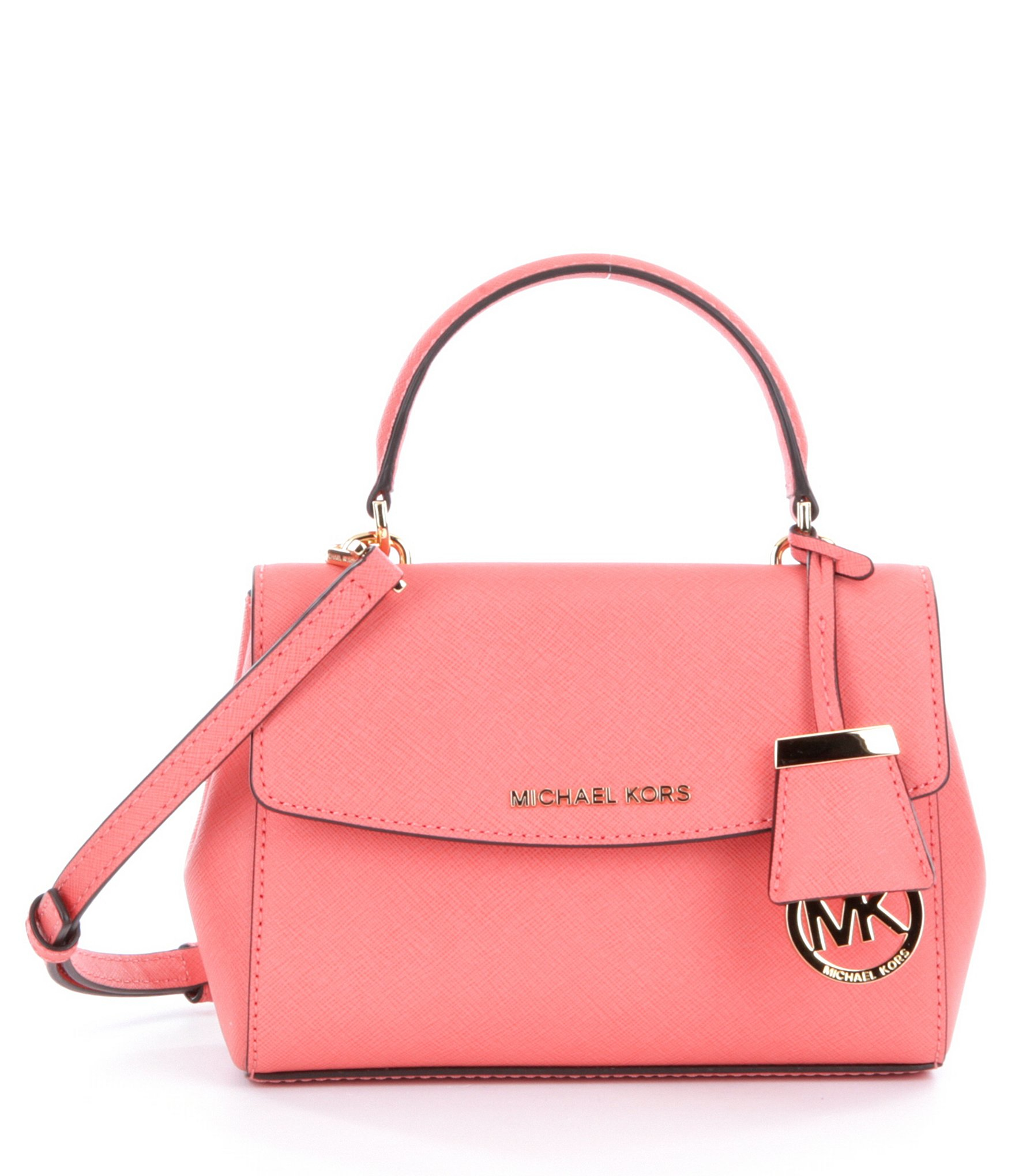aff461489466 MICHAEL Michael Kors Ava Extra-small Cross-body Bag in Pink - Lyst
