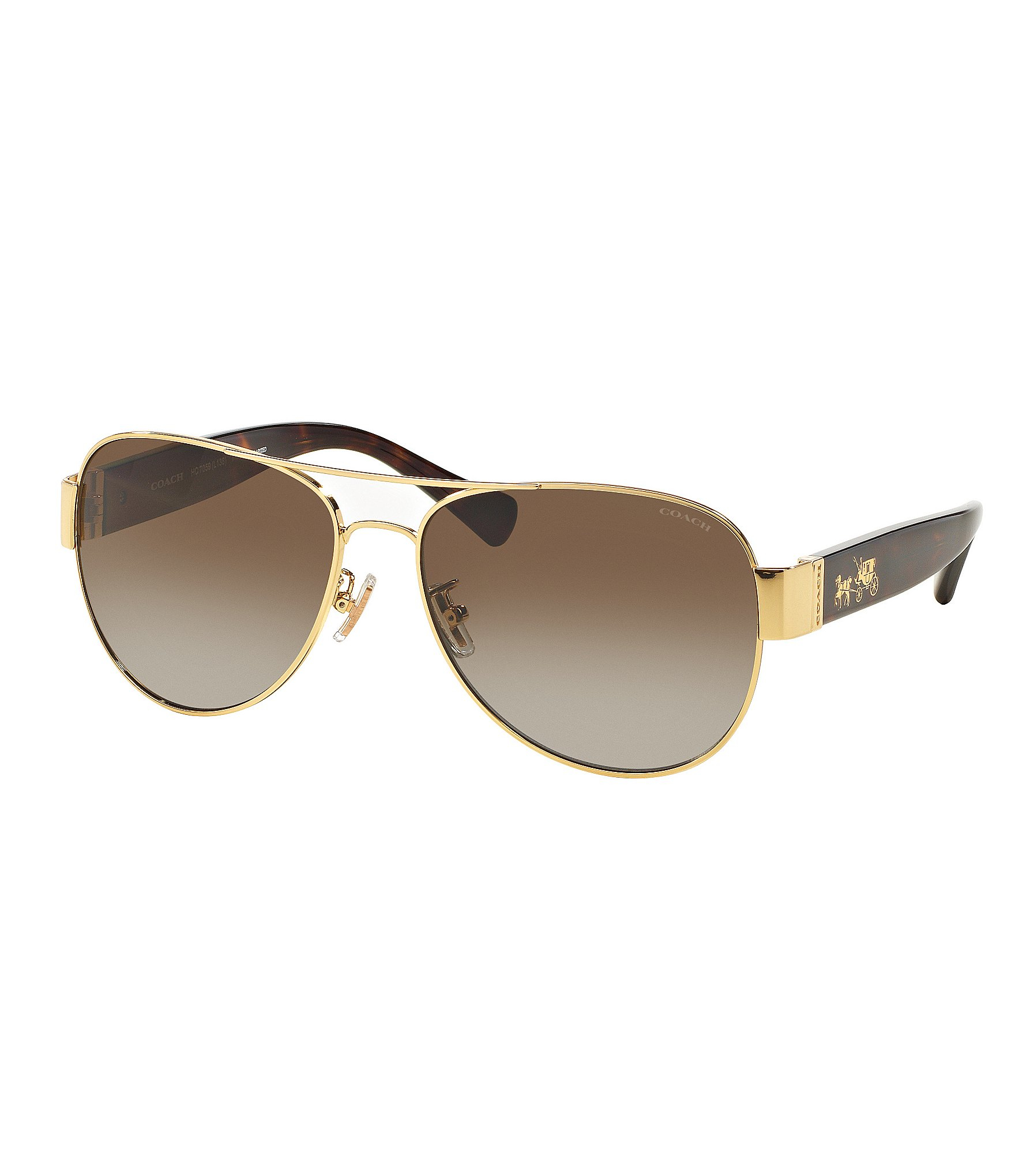 b7e32f0ccafb Coach Aviator Sunglasses S1021