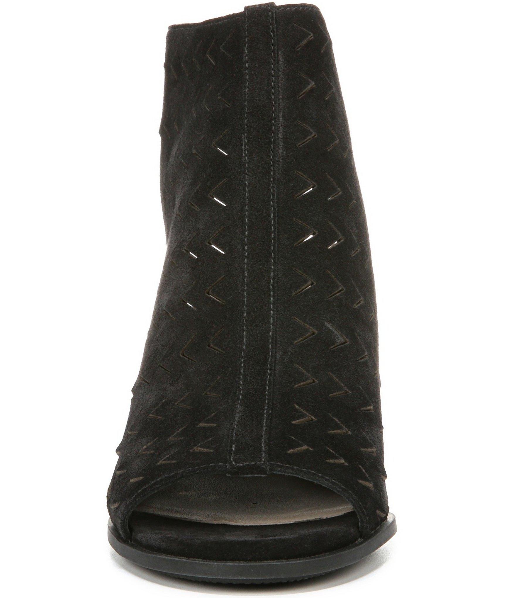 via spiga leatrice wedge sandals in black lyst