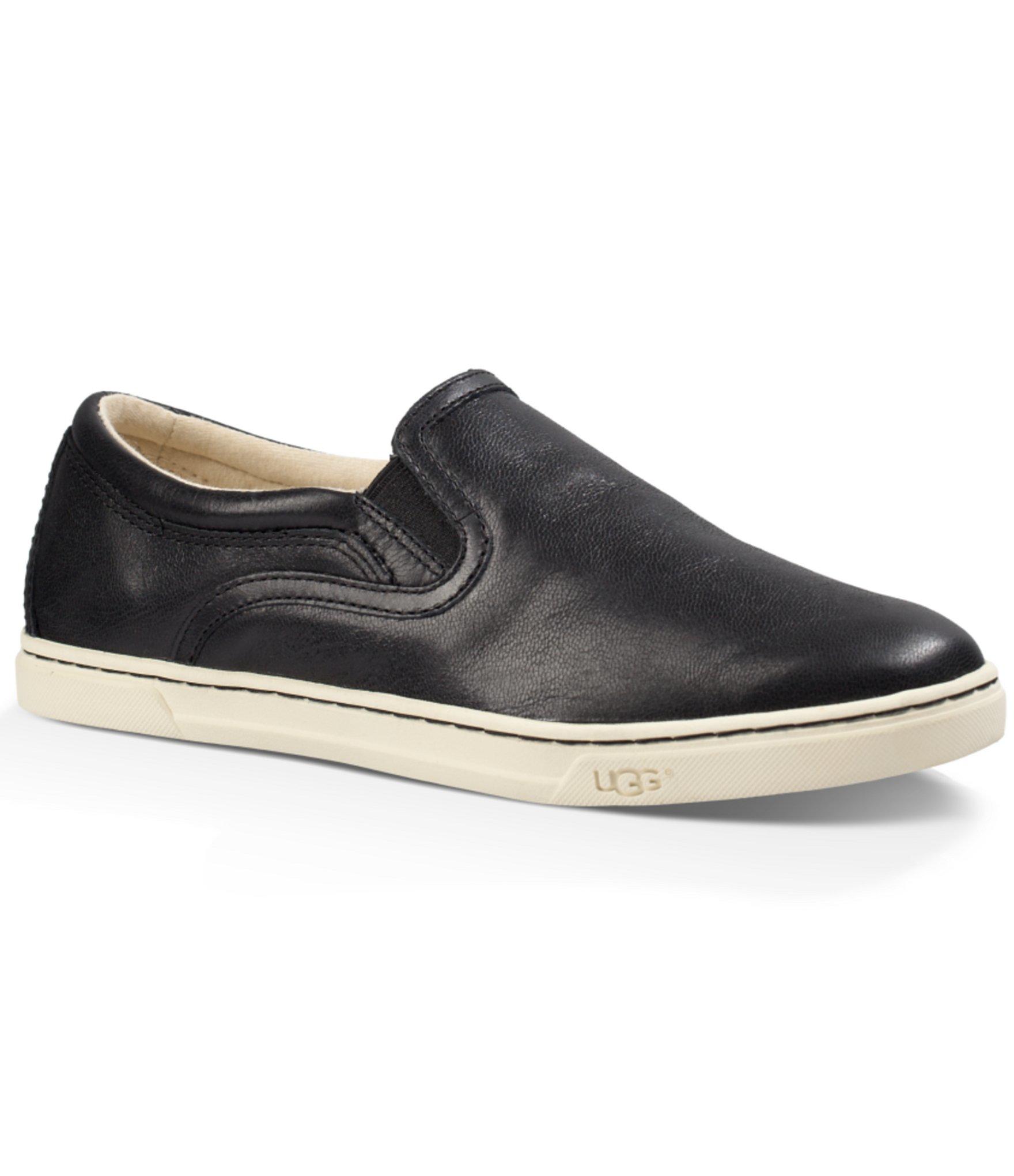 5101a164bb5 UGG Black ® Fierce Leather Sneakers