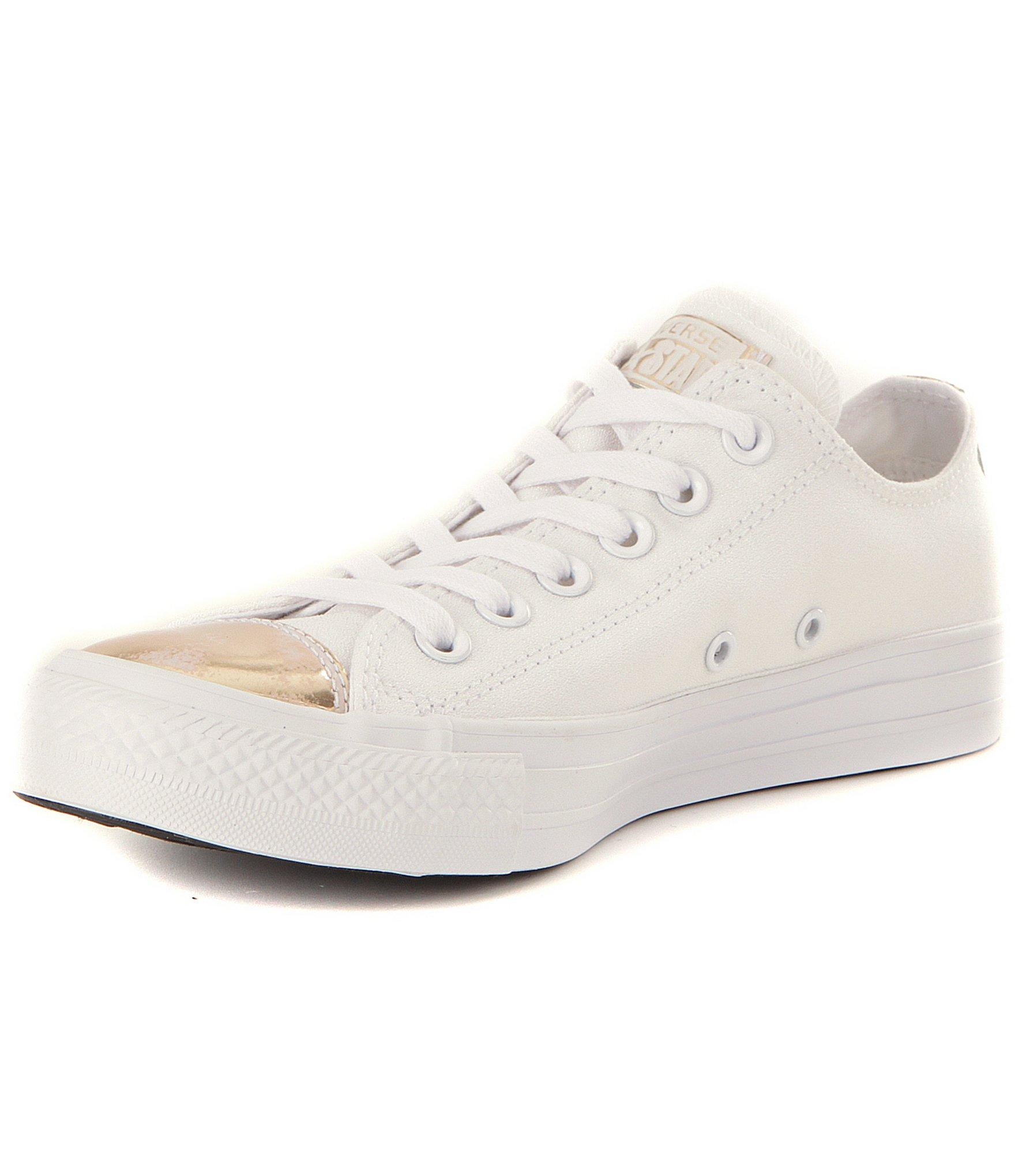48f240698b9b87 Lyst - Converse Women´s Chuck Taylor® All Star® Leather Cap Toe ...