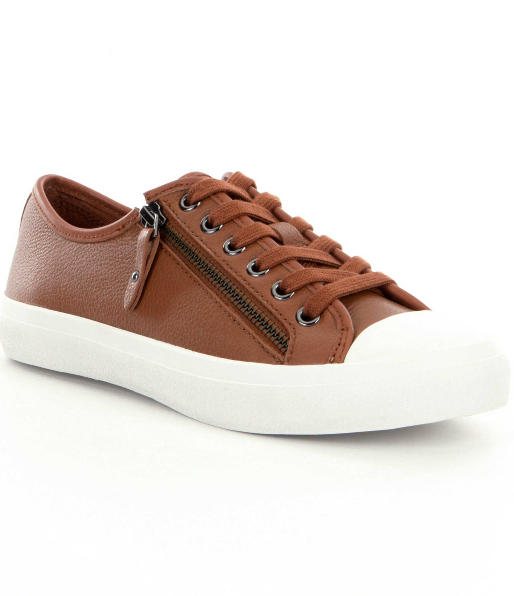 Coach Empire Sneaker In Brown Lyst