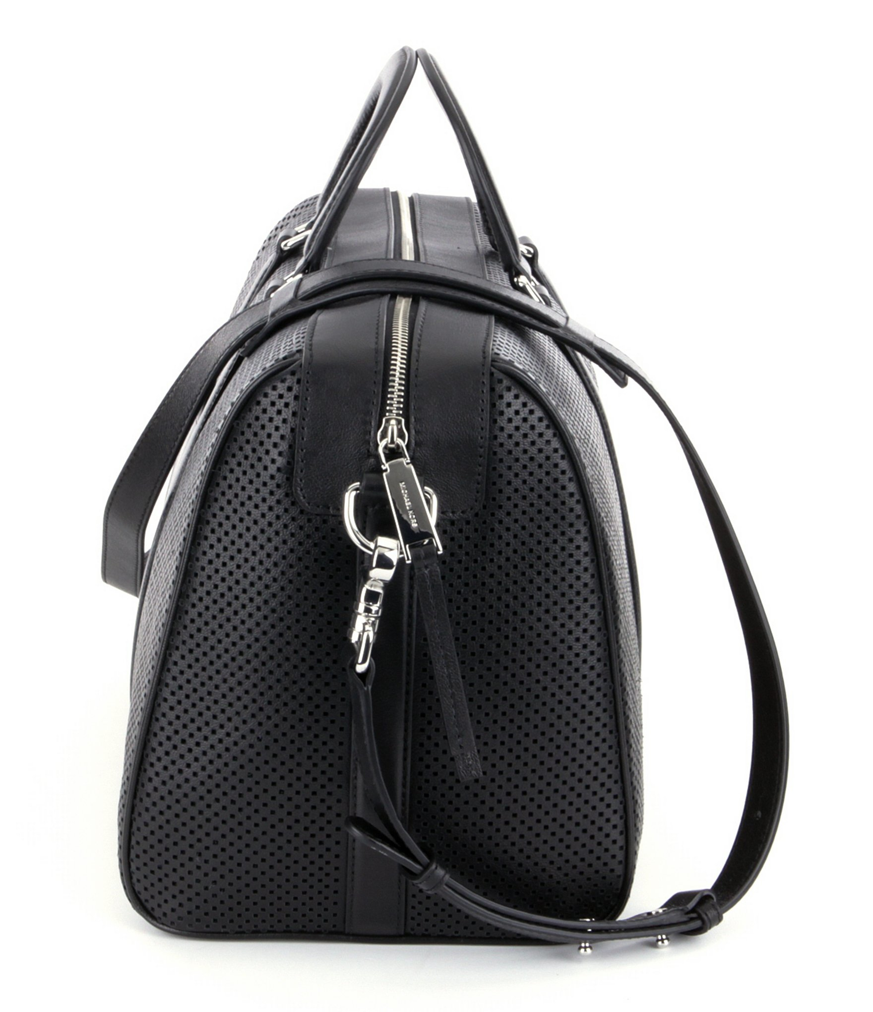 9b84d0eb84e81d MICHAEL Michael Kors Libby Perforated Gym Bag in Black for Men - Lyst