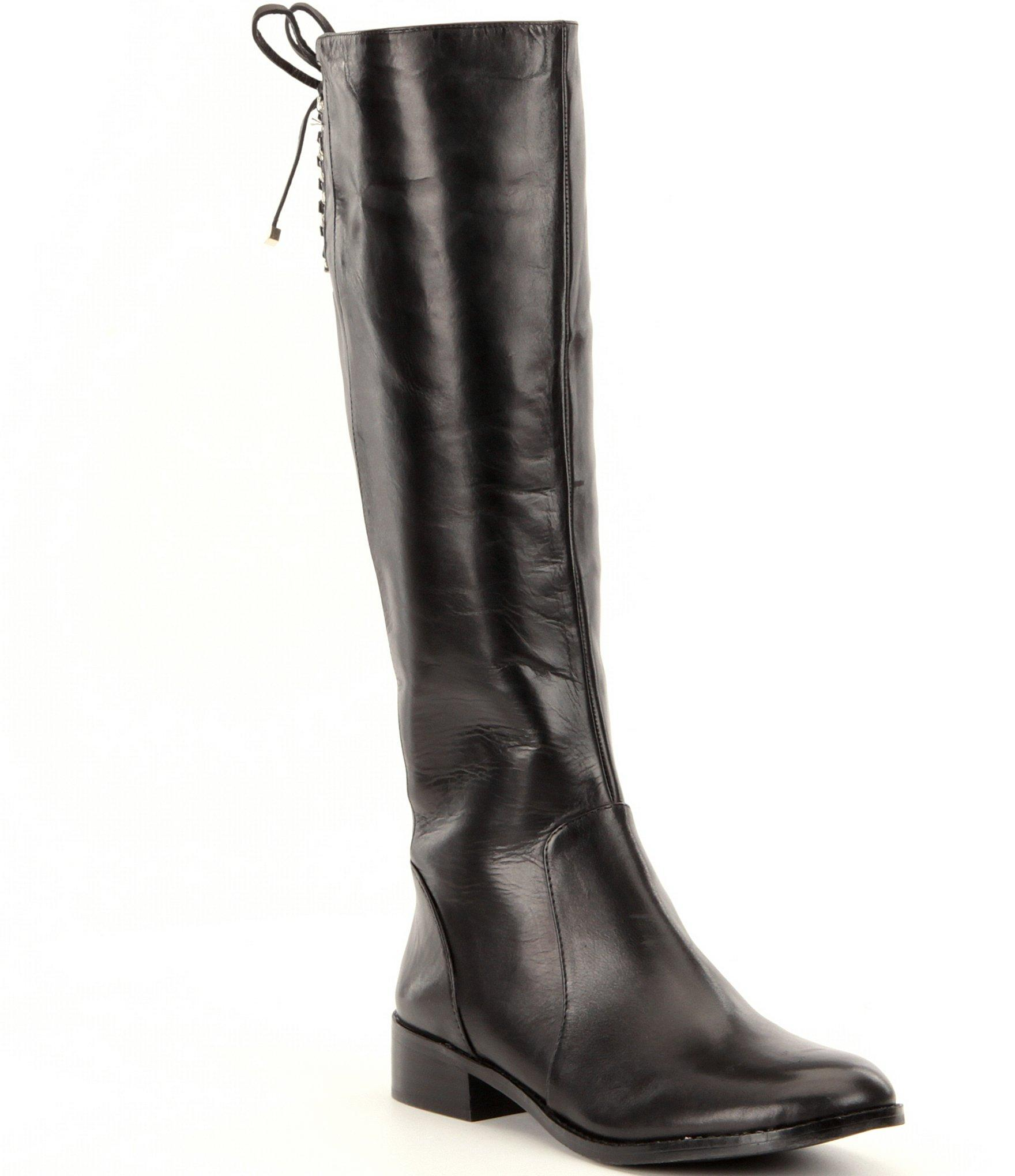Antonio melani Eastynss Narrow Calf Riding Boots in Black | Lyst