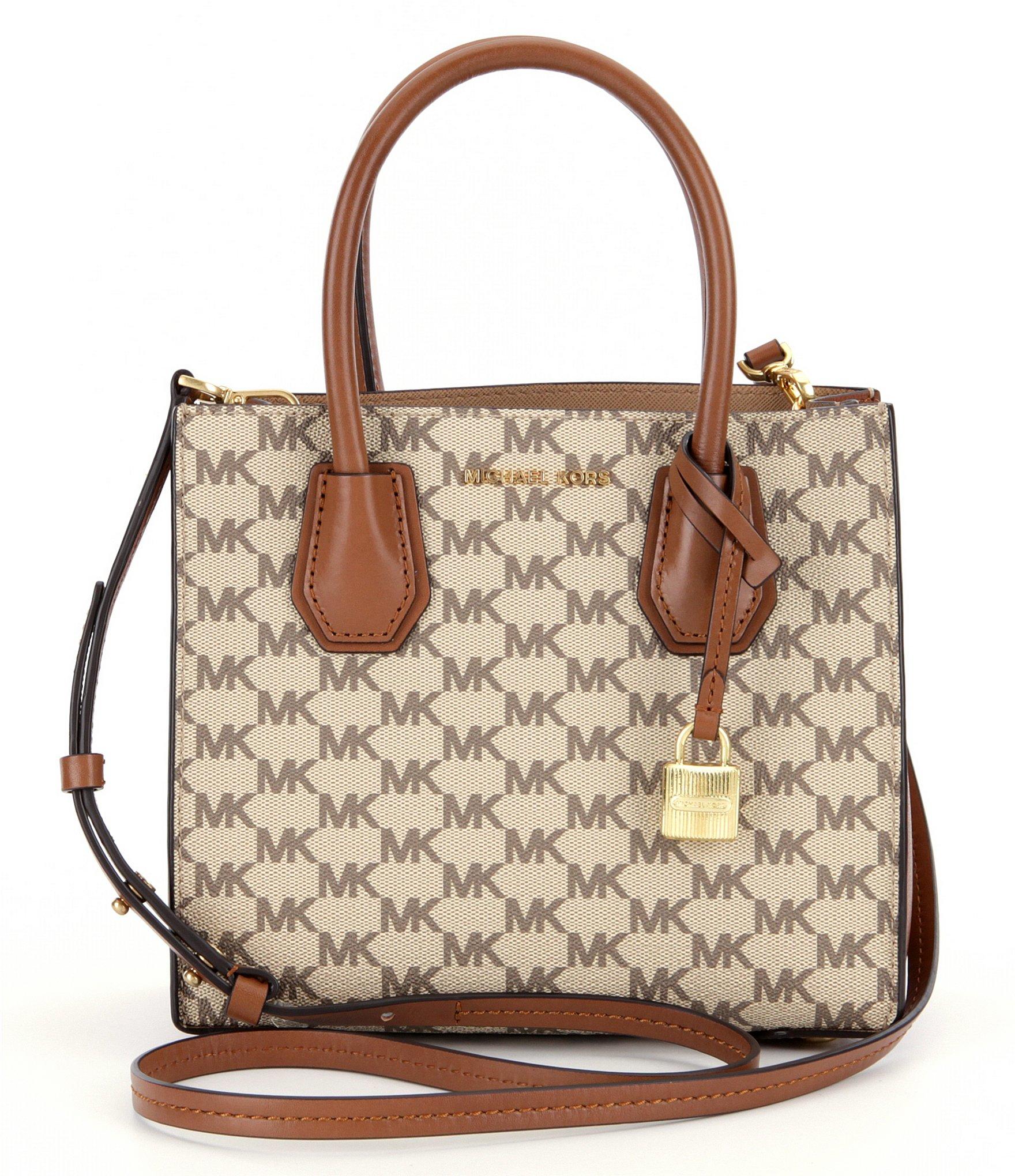 c78d45f80ba7 MICHAEL Michael Kors Studio Mercer Signature Medium Messenger Bag in ...