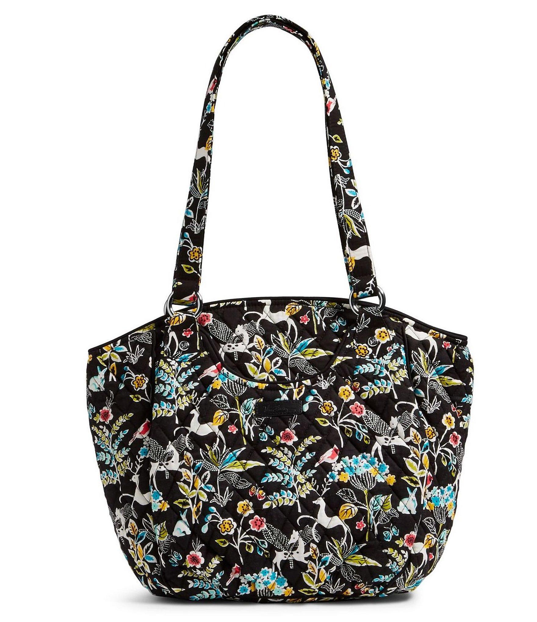 Lyst - Vera Bradley Glenna Shoulder Bag in Black