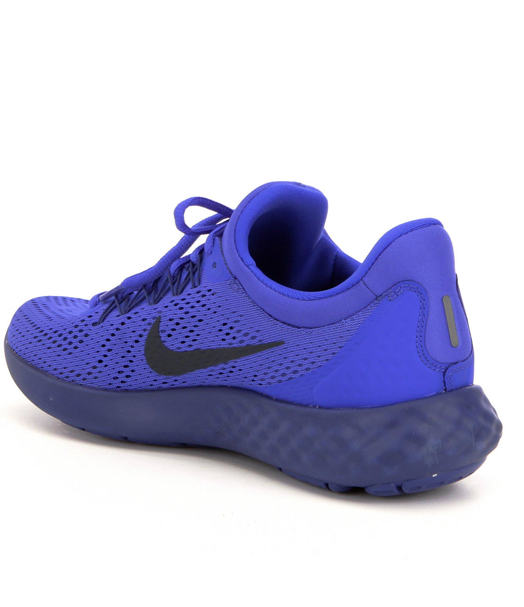1cbd643aa5d9 Lyst - Nike Men ́s Lunar Skyelux Engineered Mesh Lace Up Running ...