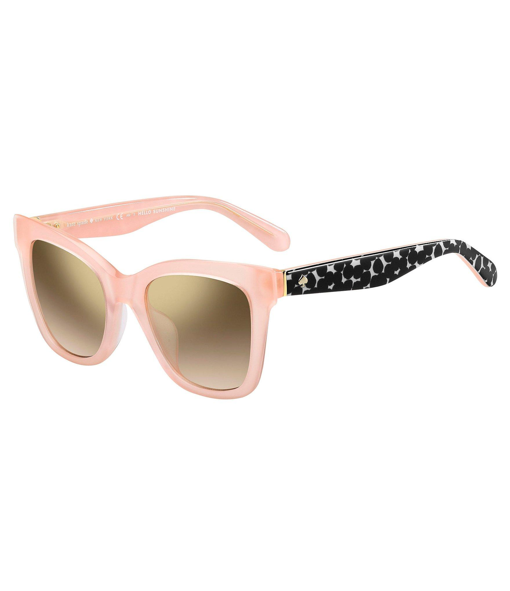 f9b7a10970 Lyst - Kate Spade Emmylou Square Sunglasses in Pink
