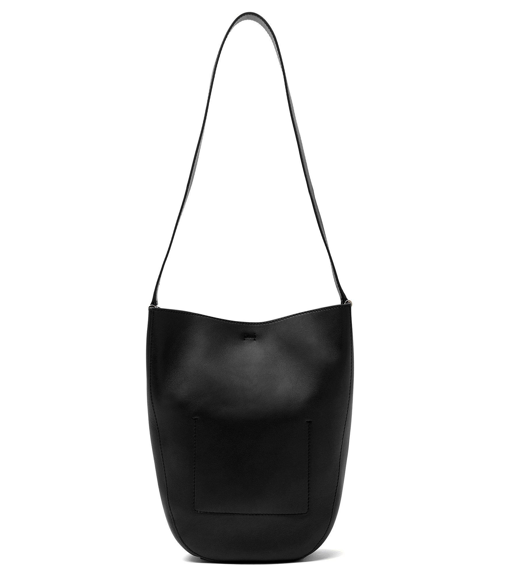 Etienne aigner black leather gloves - Etienne Aigner