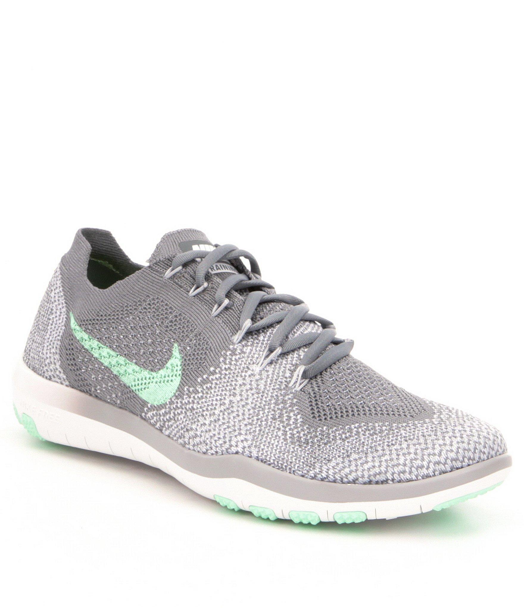 274bd4f46dd4 Lyst - Nike Women ́s Free Focus Flyknit 2 Training Shoes in Gray