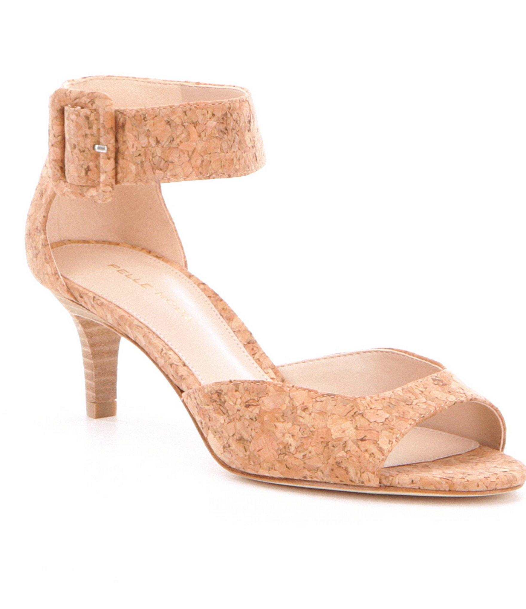 Lyst Pelle Moda Pella Moda Berlin Cork Dress Sandals In