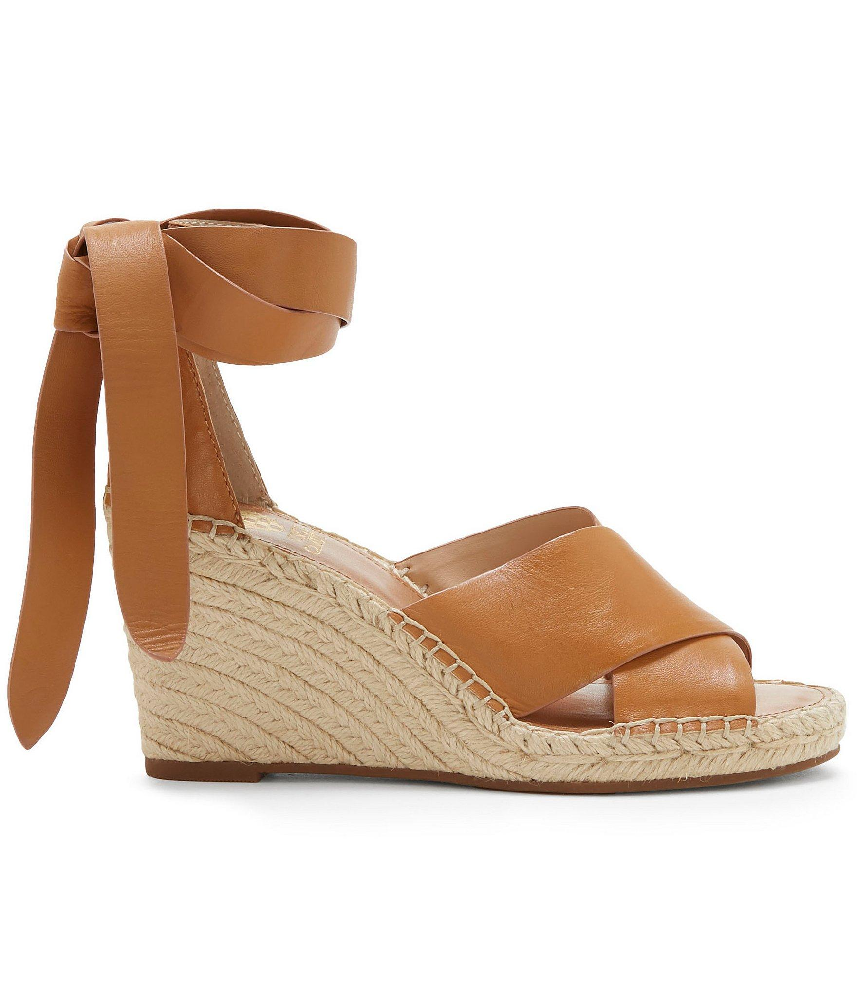 4e1093d1952 Lyst - Vince Camuto Leddy Espadrille Wedges in Brown
