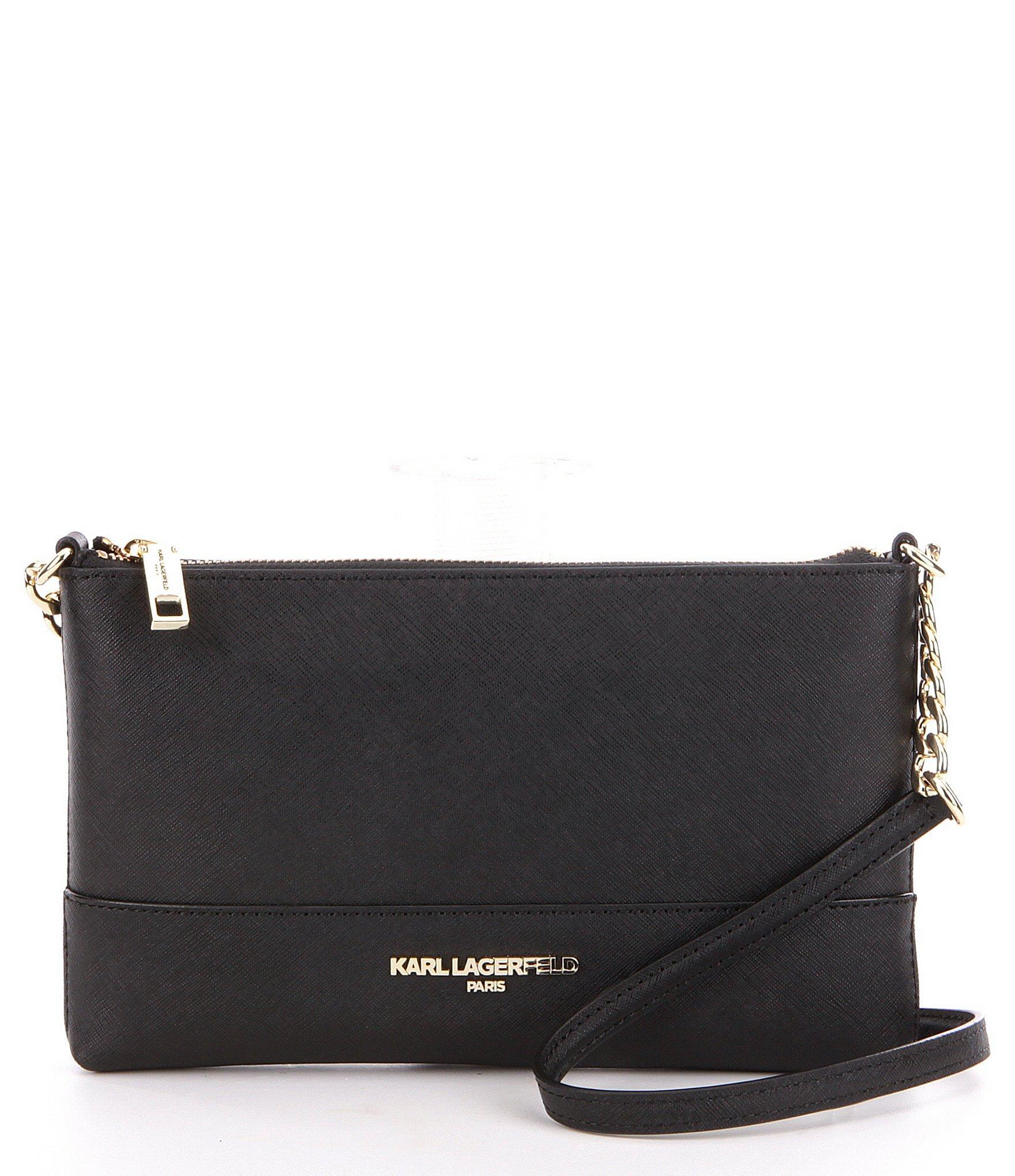 bcab85ea4f16 Lyst - Karl Lagerfeld Marie Cross-body Bag in Black