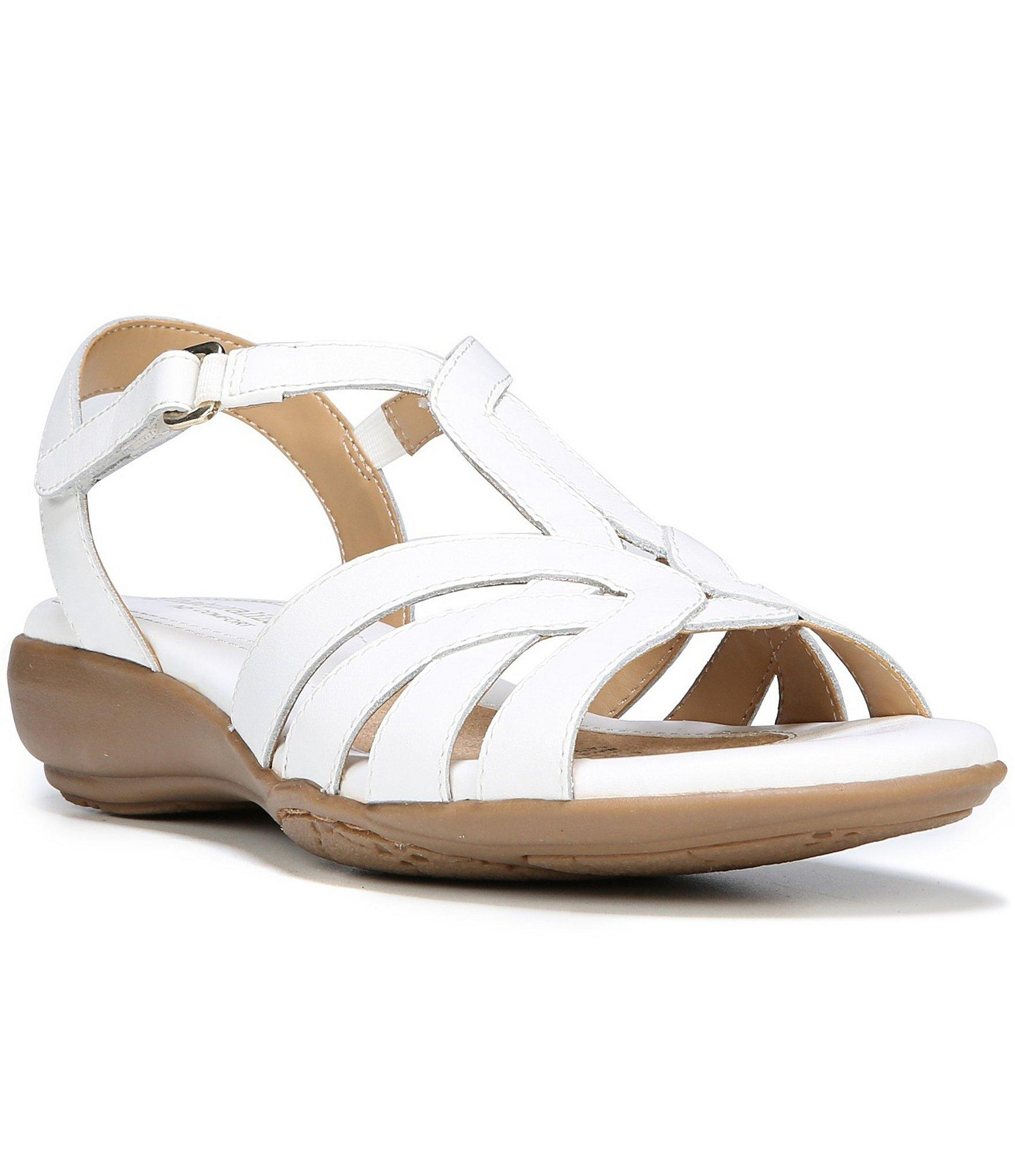 d227c8e528ac Lyst - Naturalizer Canary Sandals in White