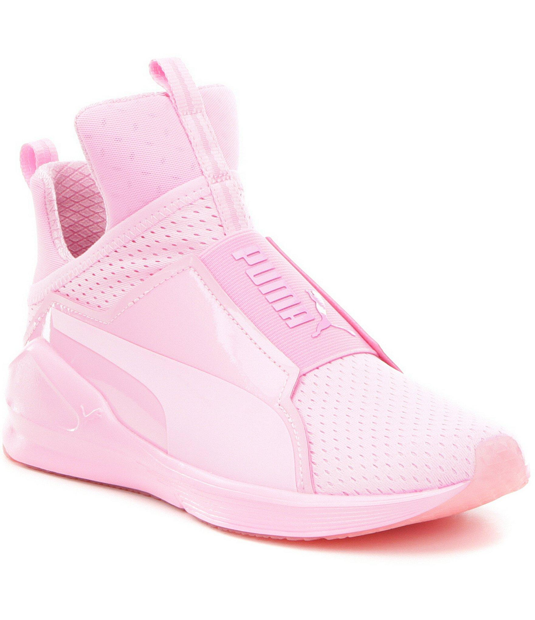 09ff59bad1 ... where to buy lyst puma fierce bright mesh sneakers in pink puma light  pink shoes 5e3a2