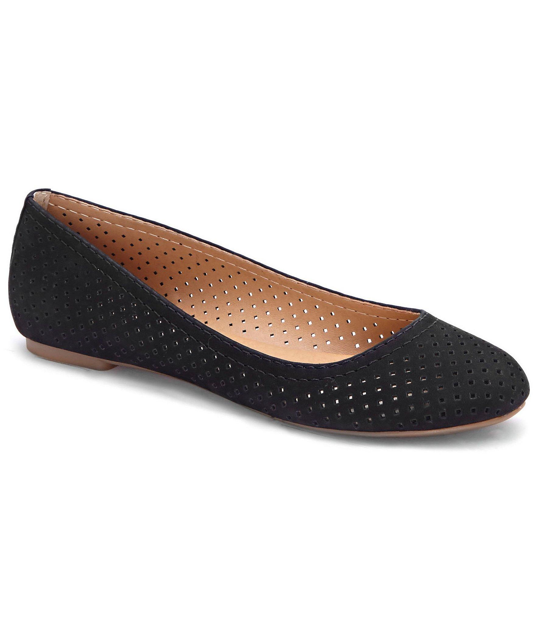 Perforated Slip On Shoes Mens