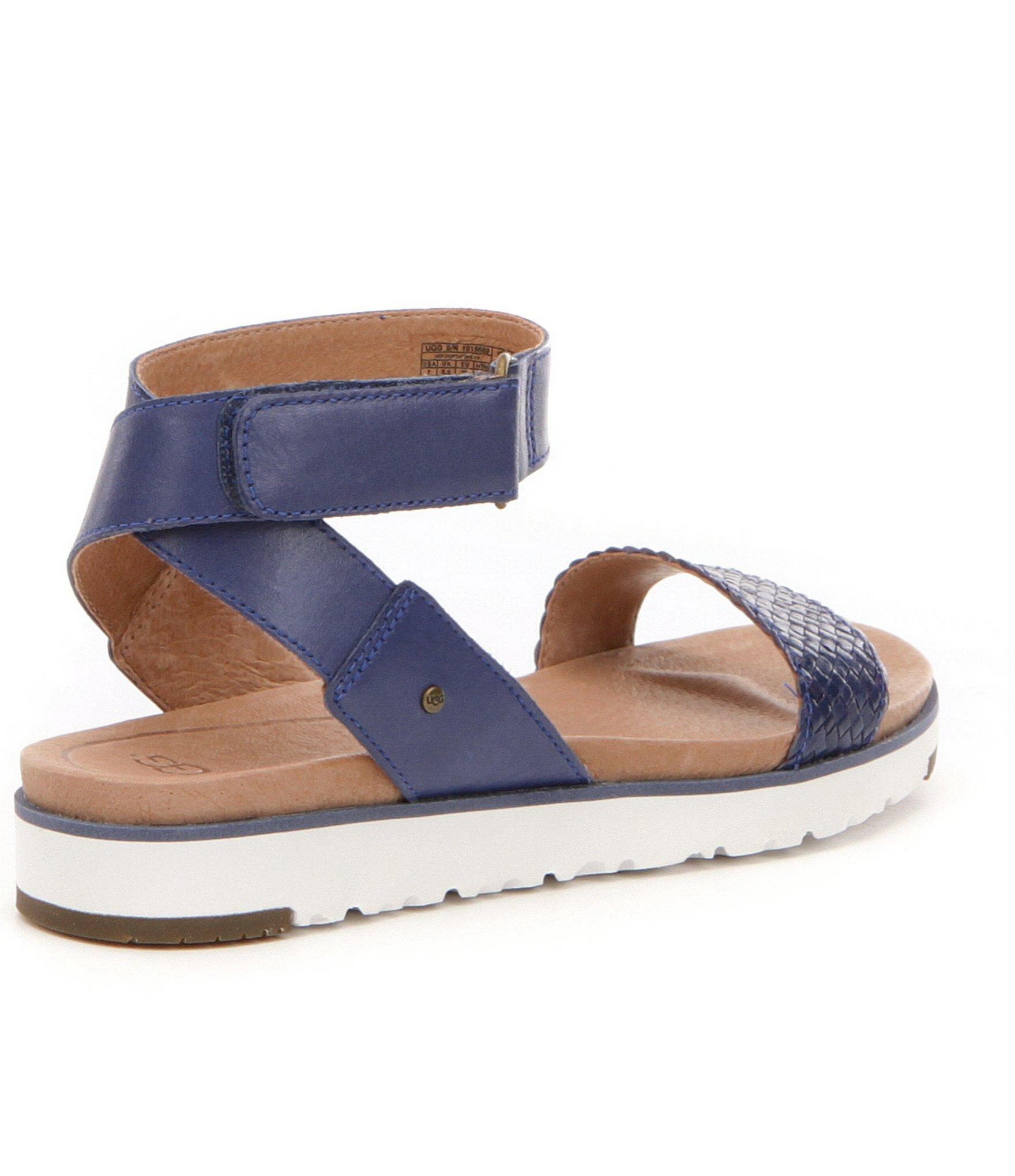 48b2748447d Ugg Blue ® Laddie Leather Sandals