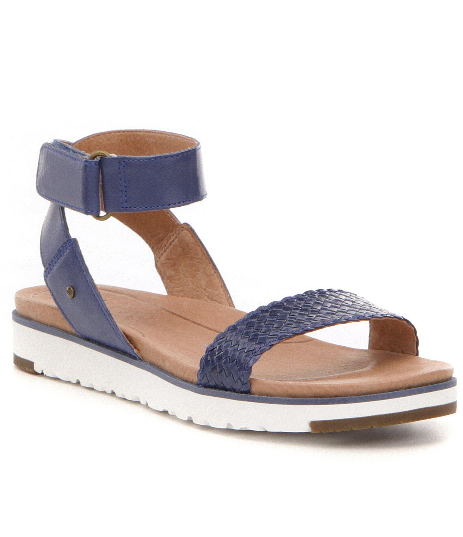 e19a108e454 Ugg Blue ® Laddie Leather Sandals