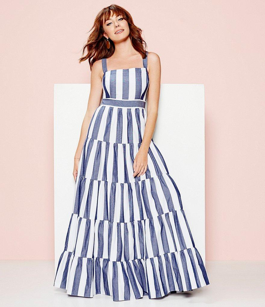 1560d4f95f2 Gallery. Previously sold at  Dillard s · Women s Tiered Dresses Women s Eliza  J Maxi