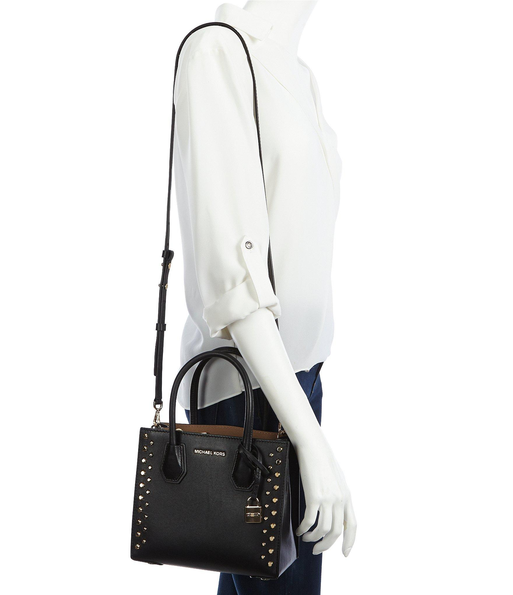 716226e56991 MICHAEL Michael Kors Studio Mercer Stud & Grommet Cross-body Bag in ...