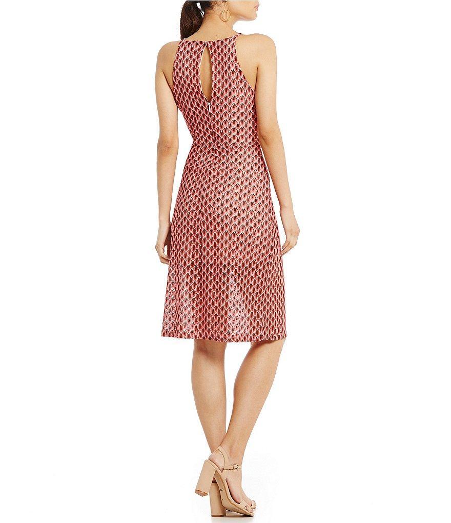 25f8e30ca5e Lyst - Gianni Bini Casey Crochet Midi Dress in Pink