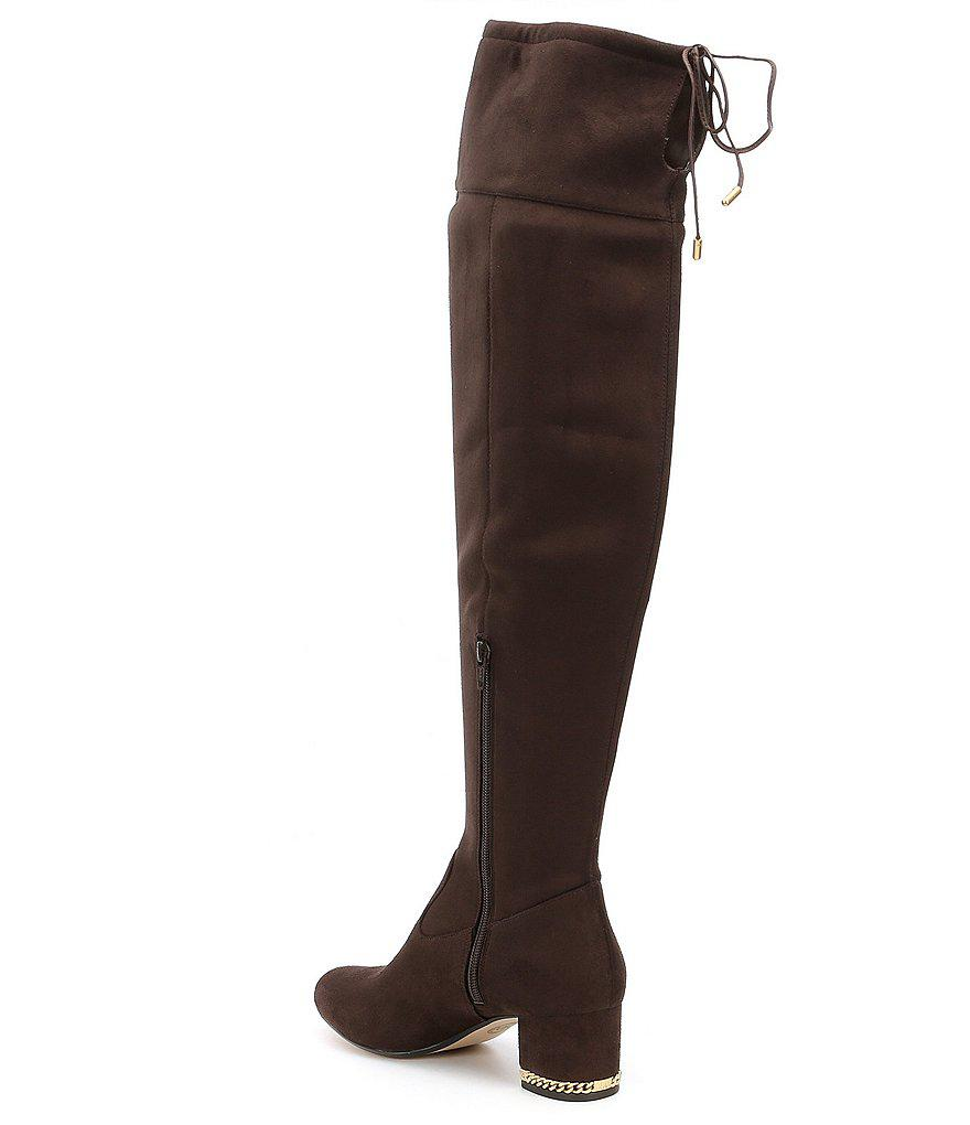 21883812f8f Lyst - MICHAEL Michael Kors Jamie Over The Knee Boots in Black