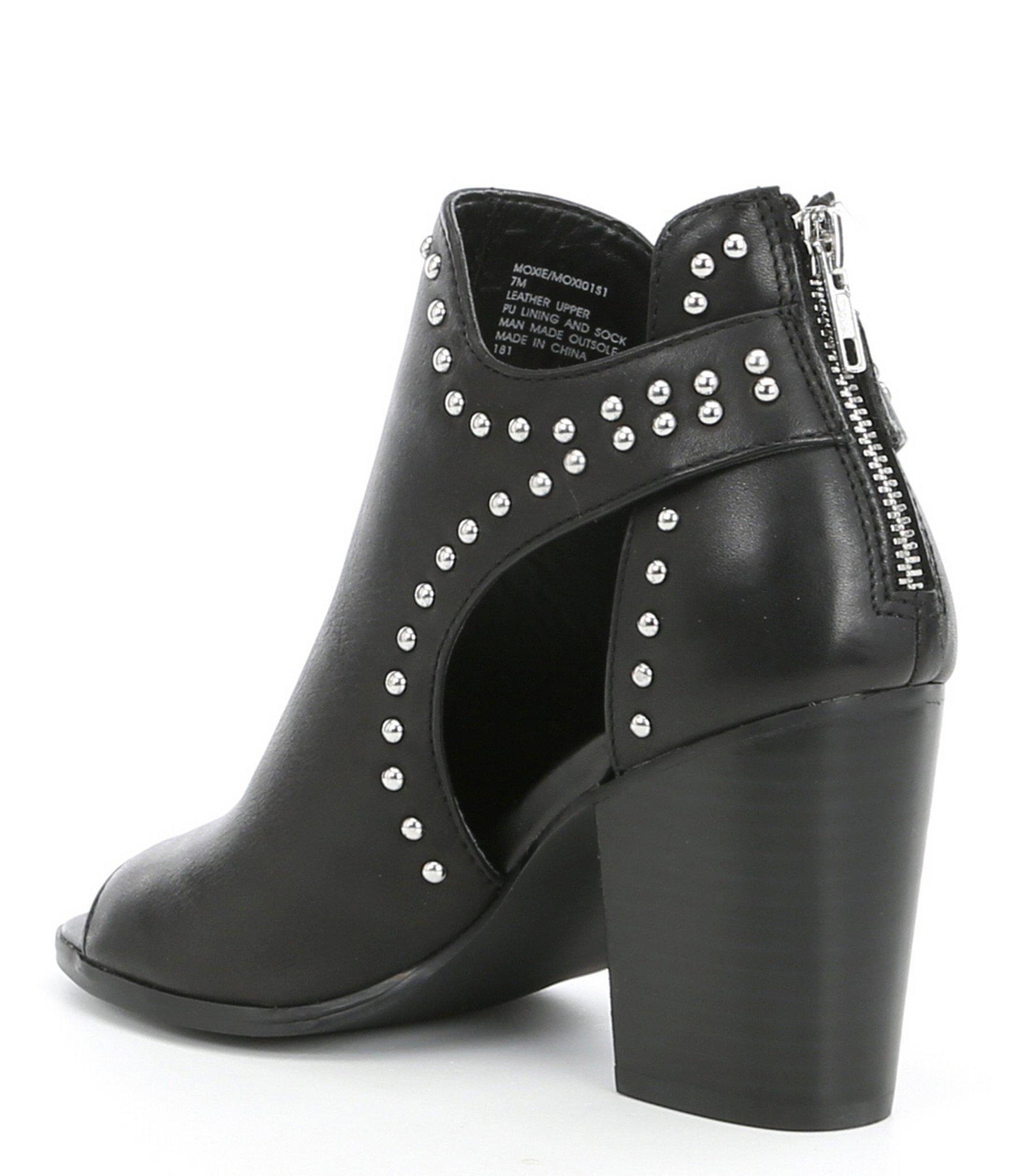 Fashion Steve Madden Rikter Cognac Leather Knee High Heel