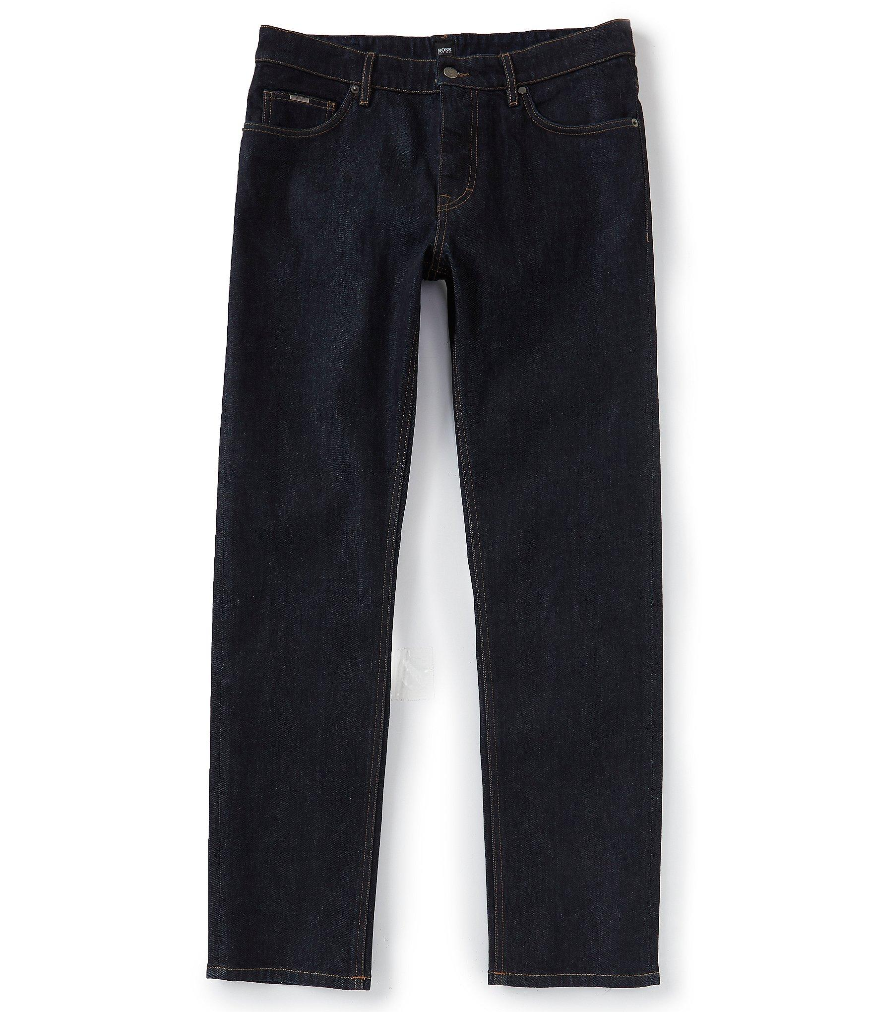 1e1722983 Lyst - BOSS Boss Albany Relaxed-fit Jeans in Blue for Men