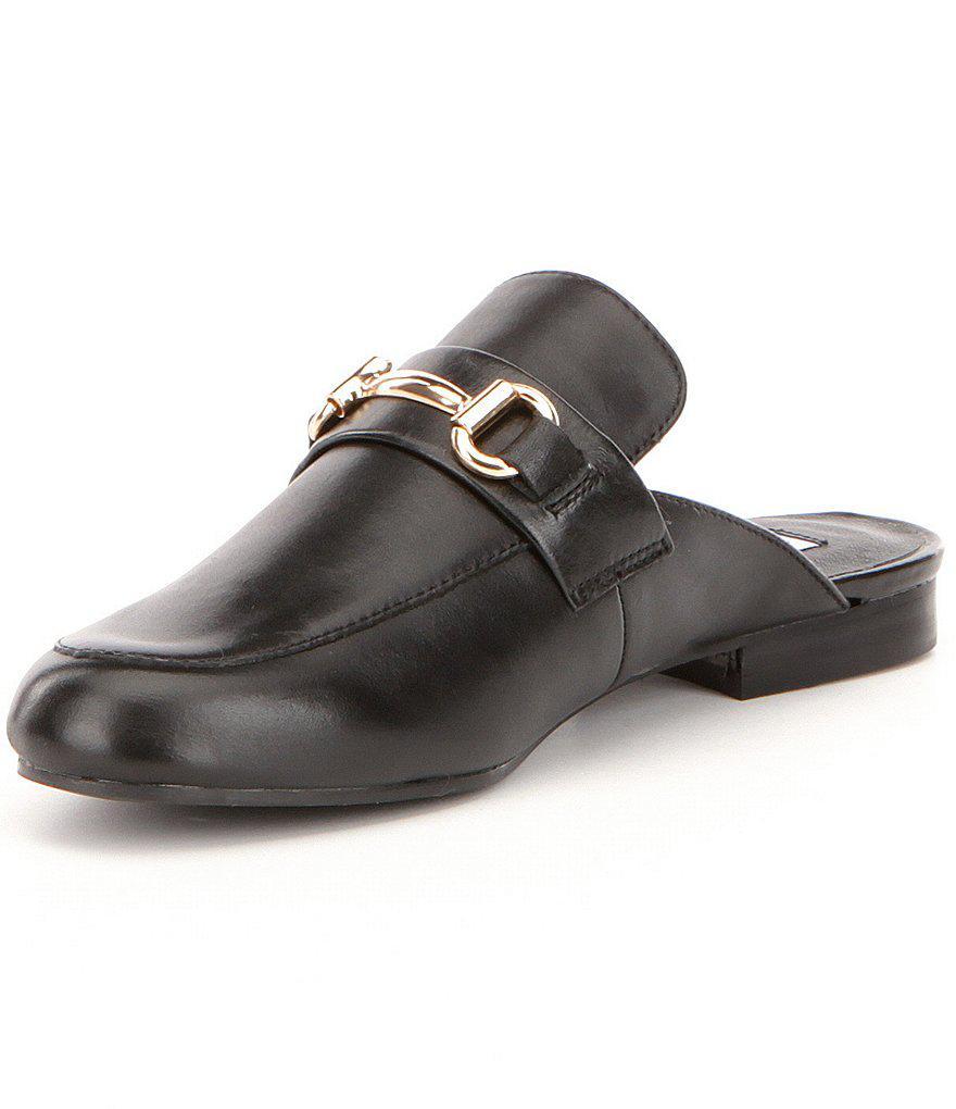 685d47e042c Lyst - Steve Madden Kandi Leather Dress Mules in Black