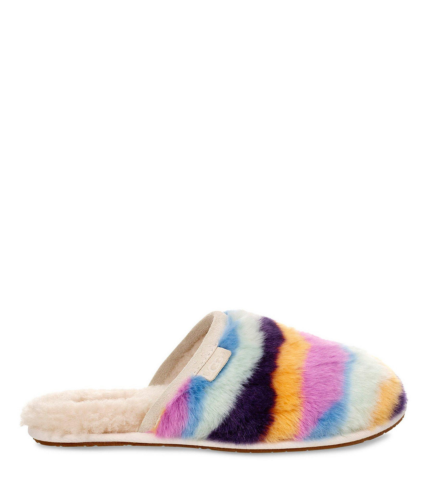 771b358c848 Women's Blue Fluffette Mural Slippers