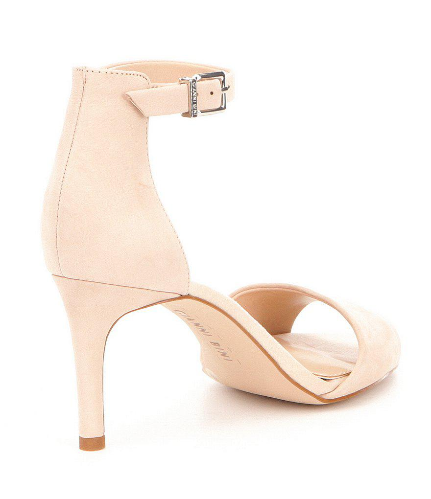 Meria Ankle-Strap Leather Dress Sandals iPzPGH