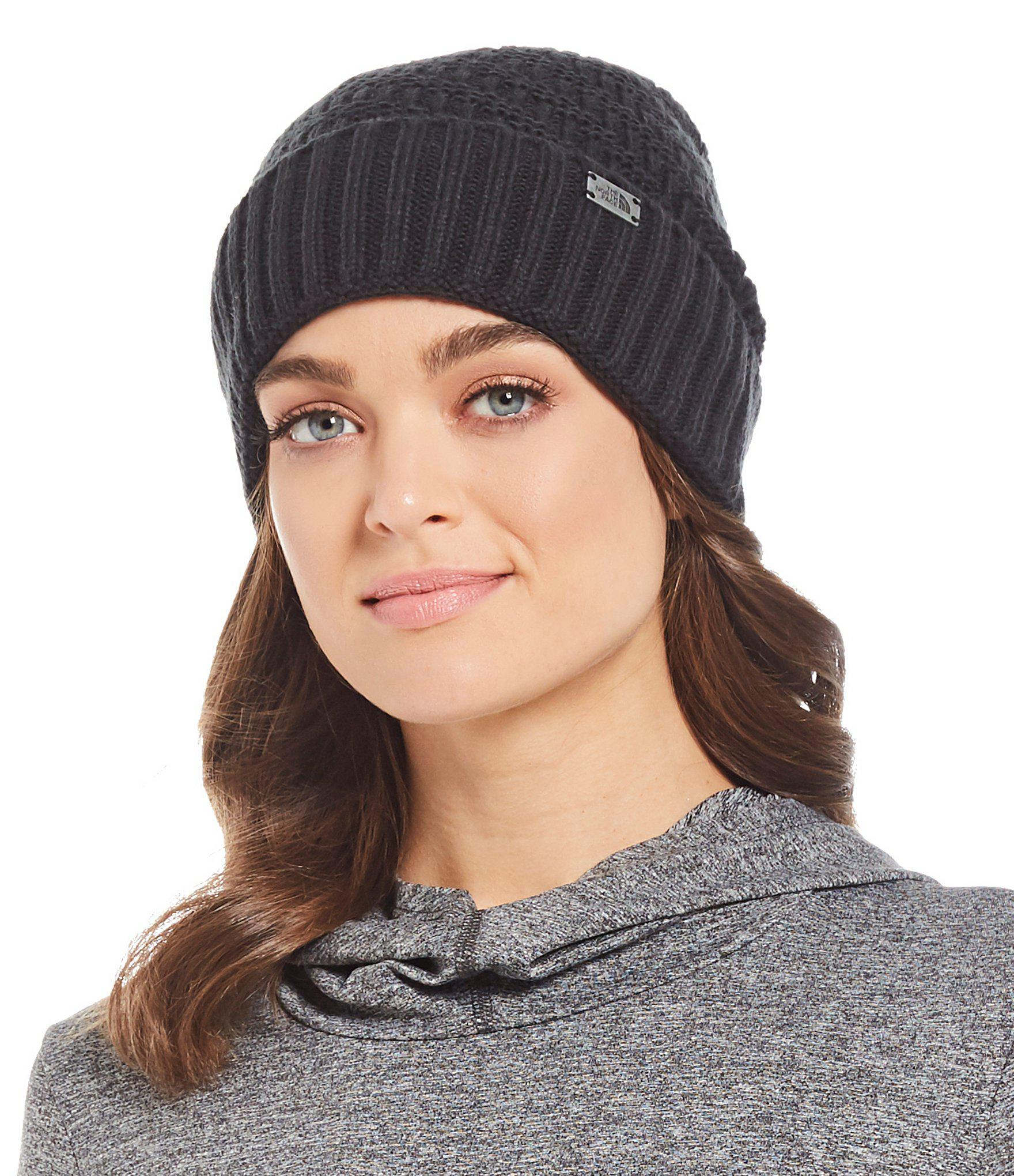 ff419dc5e0a72 The North Face Ladies  Reyka Beanie in Black - Lyst
