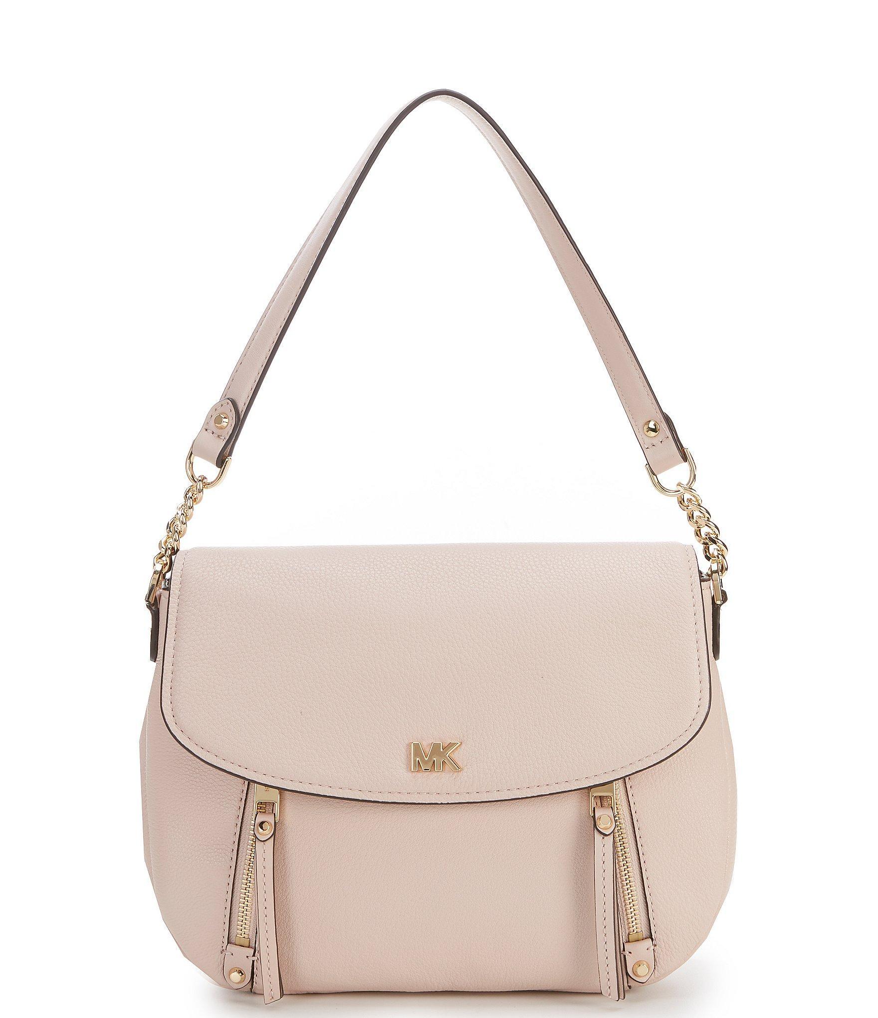 a7660999002d Lyst - MICHAEL Michael Kors Evie Medium Shoulder Bag in Pink