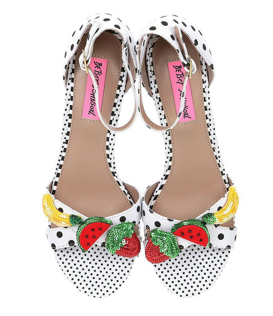 Jordan Polka Dot Fruit Ornament Sandals Mljt7onFpu