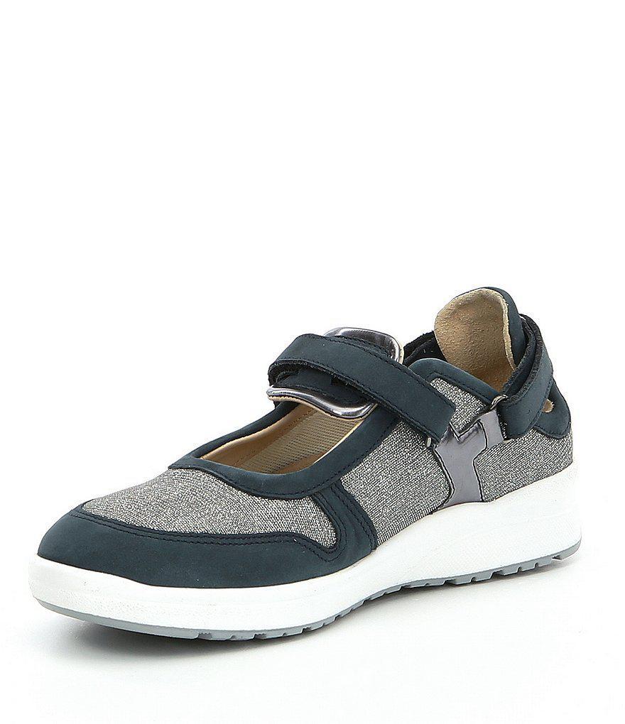 Mephisto Rejine Nubuck Leather Mary Jane Sneakers xSxdZZwxeb