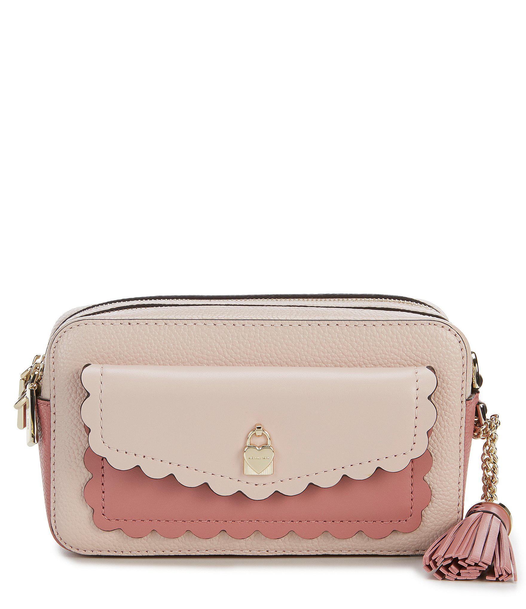 3a7055cb85 MICHAEL Michael Kors. Women s Small Colorblock Pocket Camera Cross-body Bag