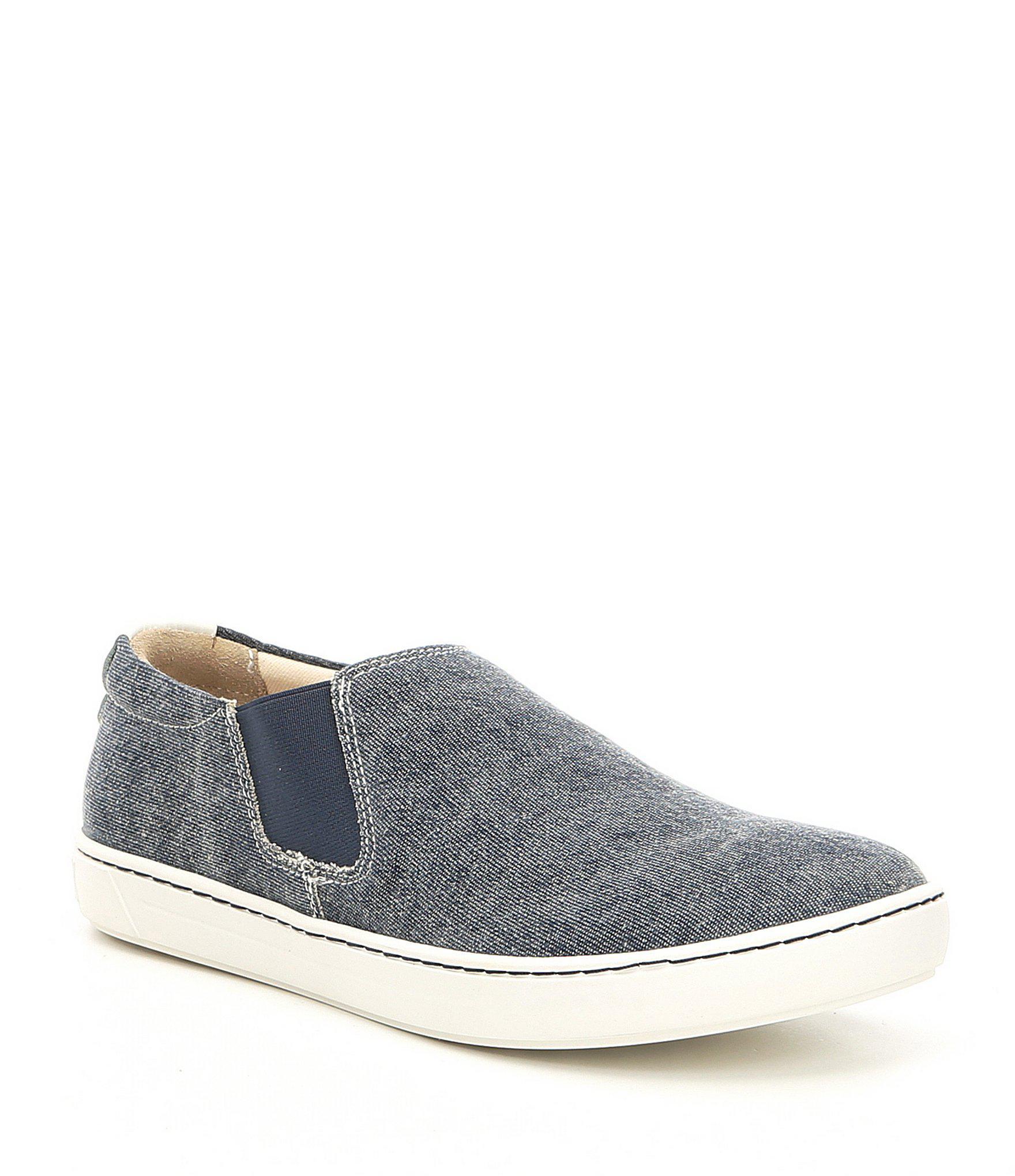 34ab8bce2708 Lyst - Birkenstock Barrie Canvas Sneakers in Blue