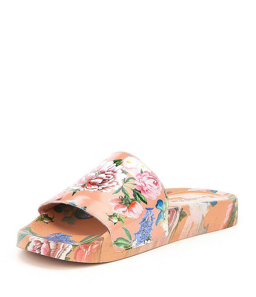Gianni Bini Maeple Floral Slide Sandals Kw5id7uSts