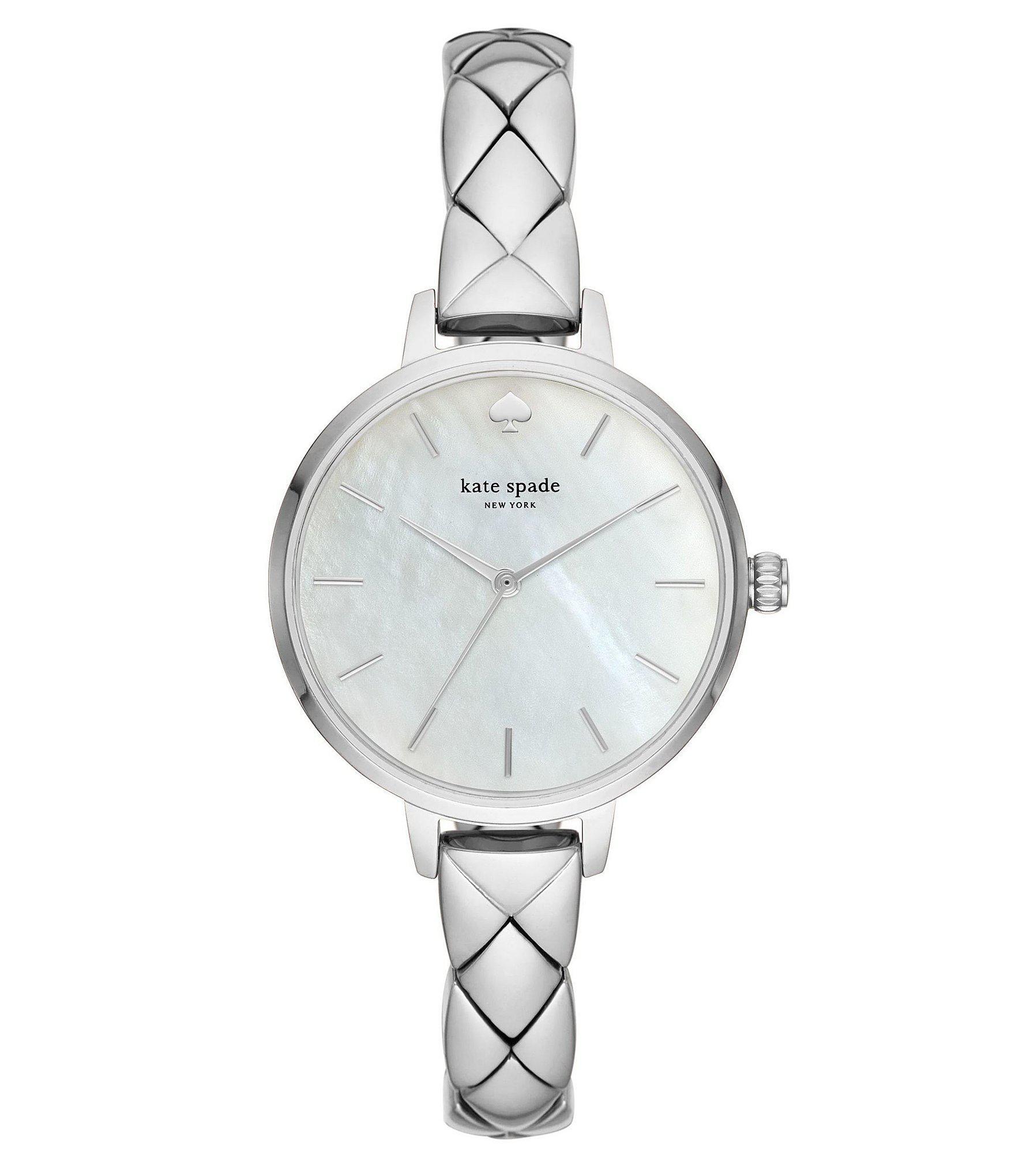 22afdae363f Kate Spade - Metallic Metro Bracelet Watch - Lyst. View fullscreen