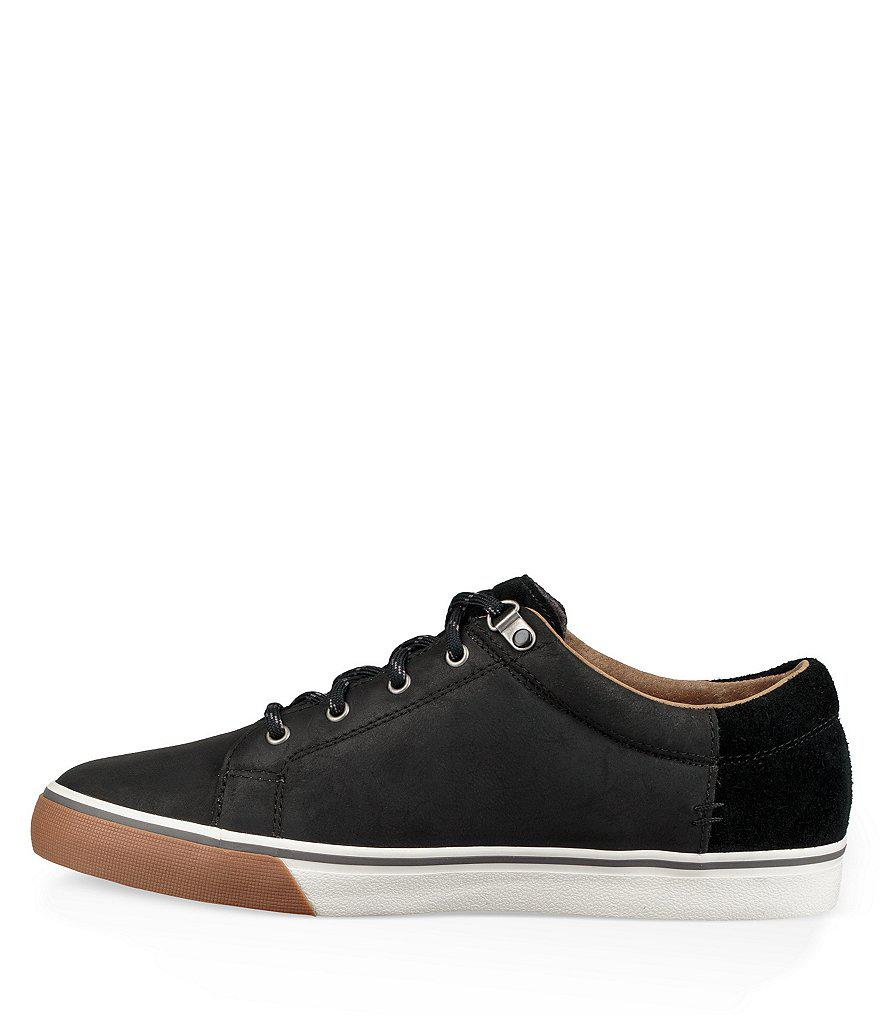 07b4001a54f Ugg Black Men's Brock Waterproof Sneakers for men