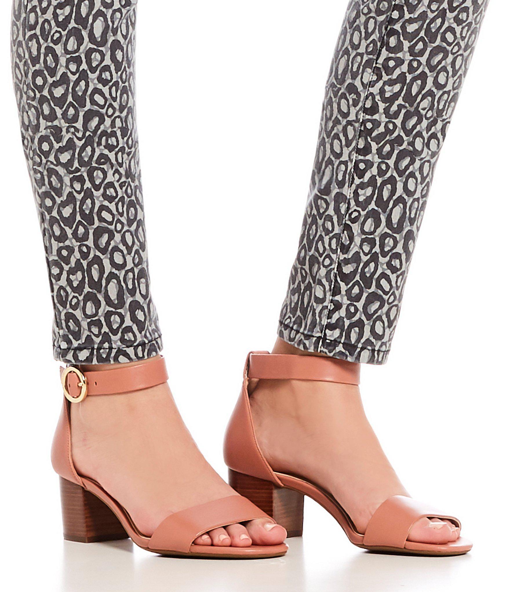 388b8713b77 MICHAEL Michael Kors Lena Flex Block Heel Sandals - Lyst