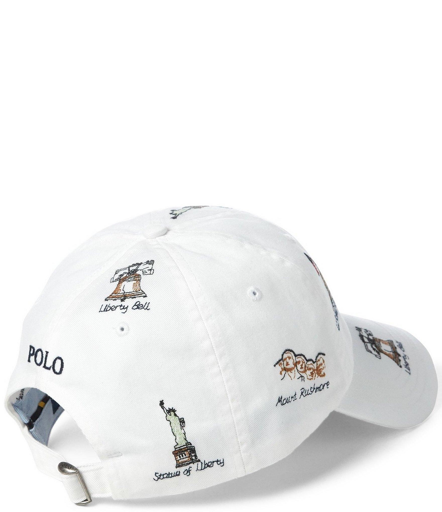 5b8f3367 Polo Ralph Lauren - White Monuments Chino Baseball Cap for Men - Lyst. View  fullscreen