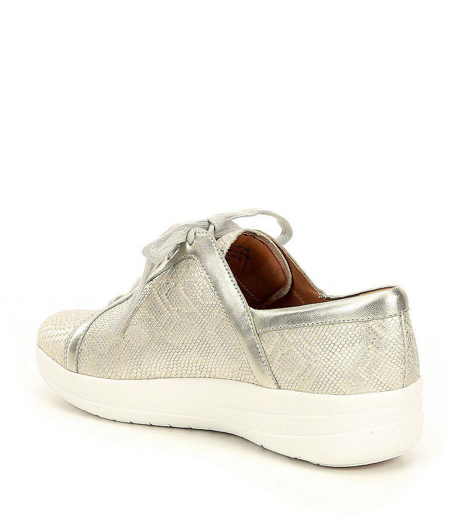 FitFlop F-Sporty II Metallic Python Sneakers HR5MZftK