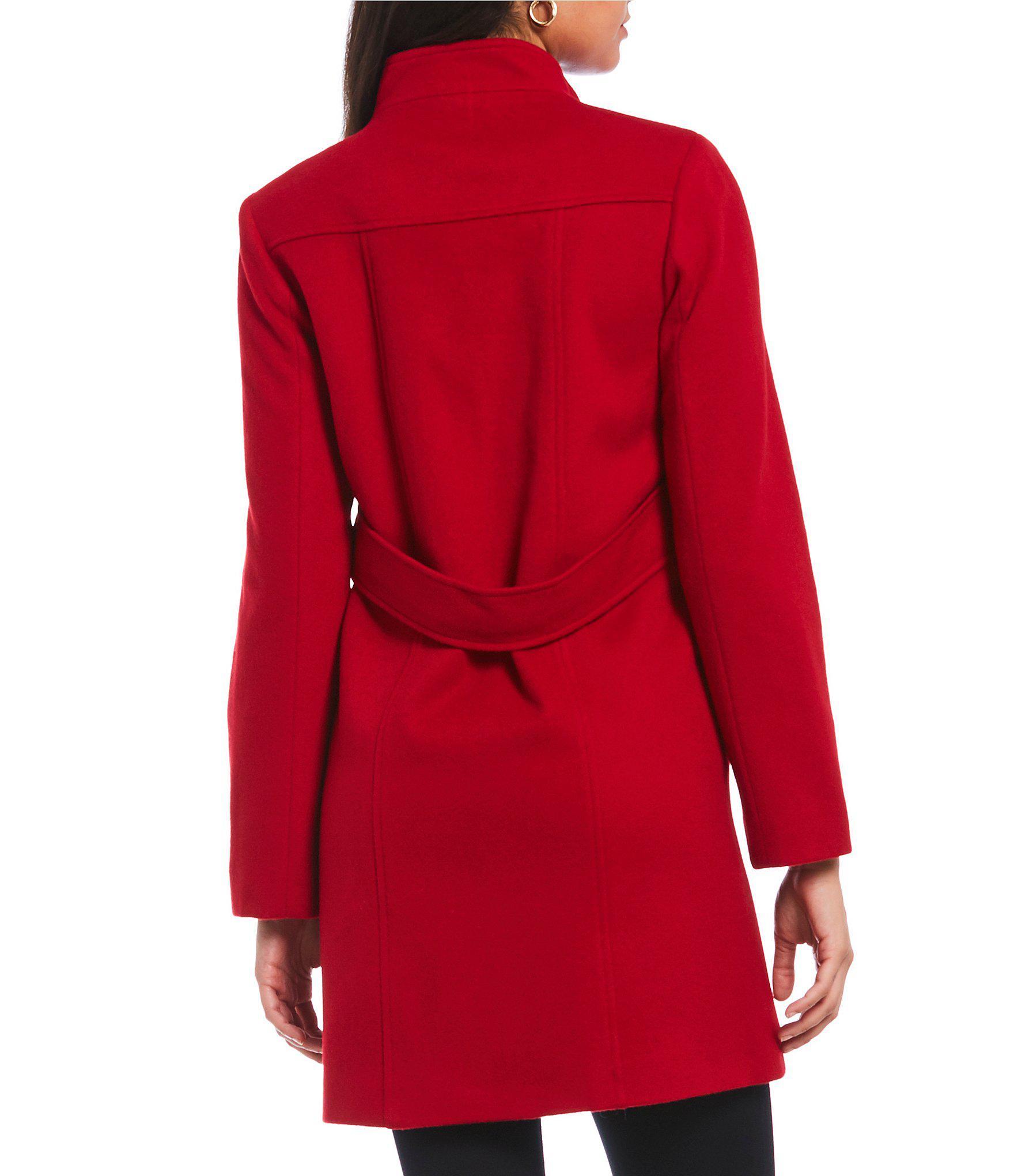 2416f9415c8f Katherine kelly classic stand collar single breasted wool coat jpg  1760x2040 Dillards katherine kelly coats
