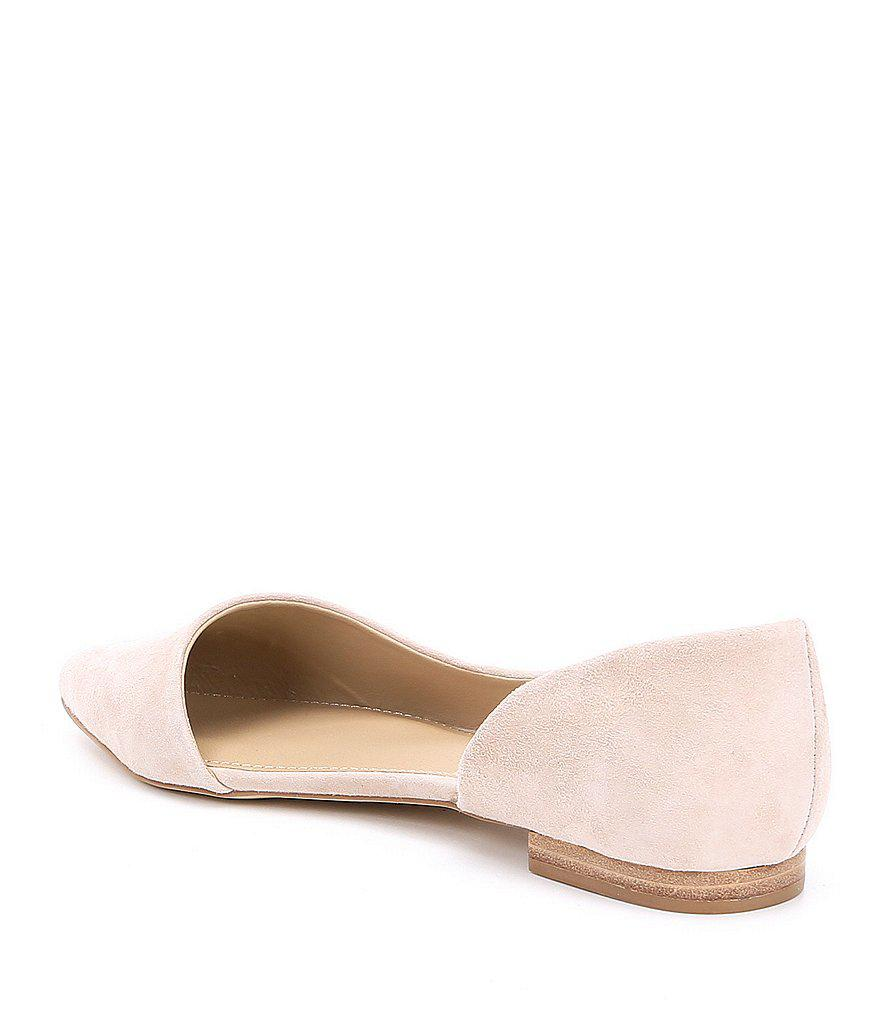 Audriana Suede Flats dhCfc1