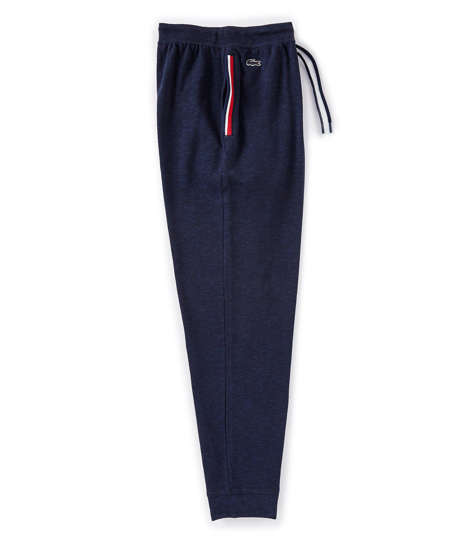 Lacoste Synthetic Lounge French Terry Joggers in Blue for ...