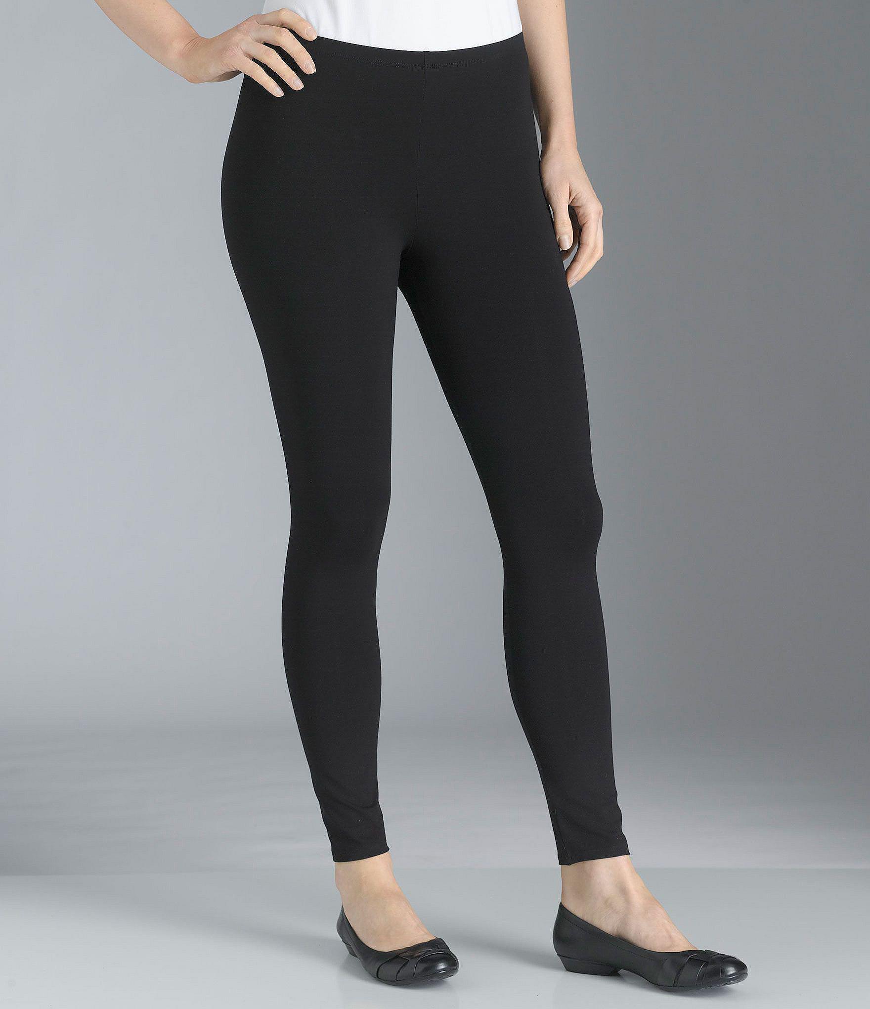 939a5836c4d3b Eileen Fisher. Women's Black Petite Essentials Jersey Ankle Leggings
