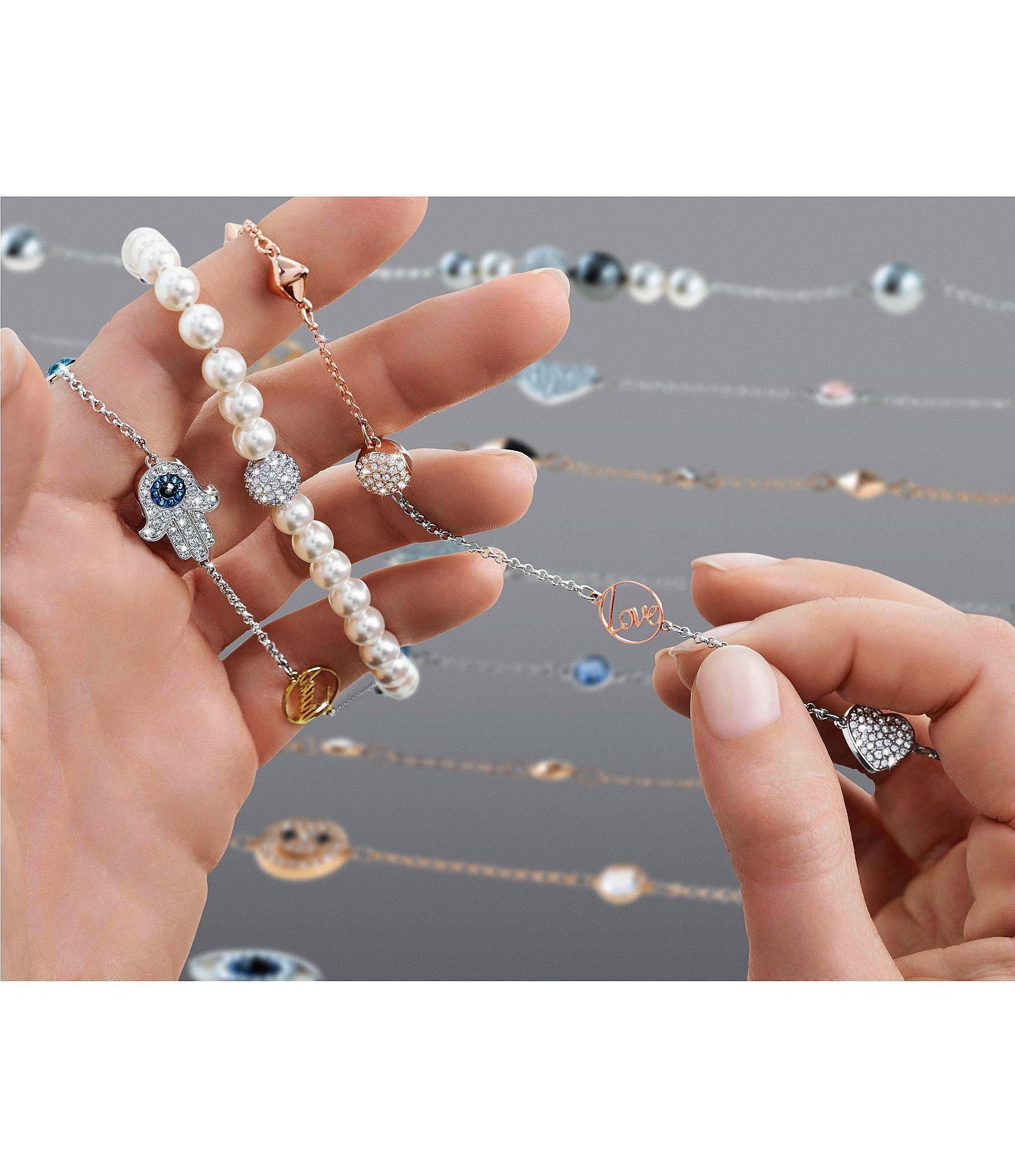superior quality cheapest sale marketable Remix Collection Spike Crystal Line Bracelet