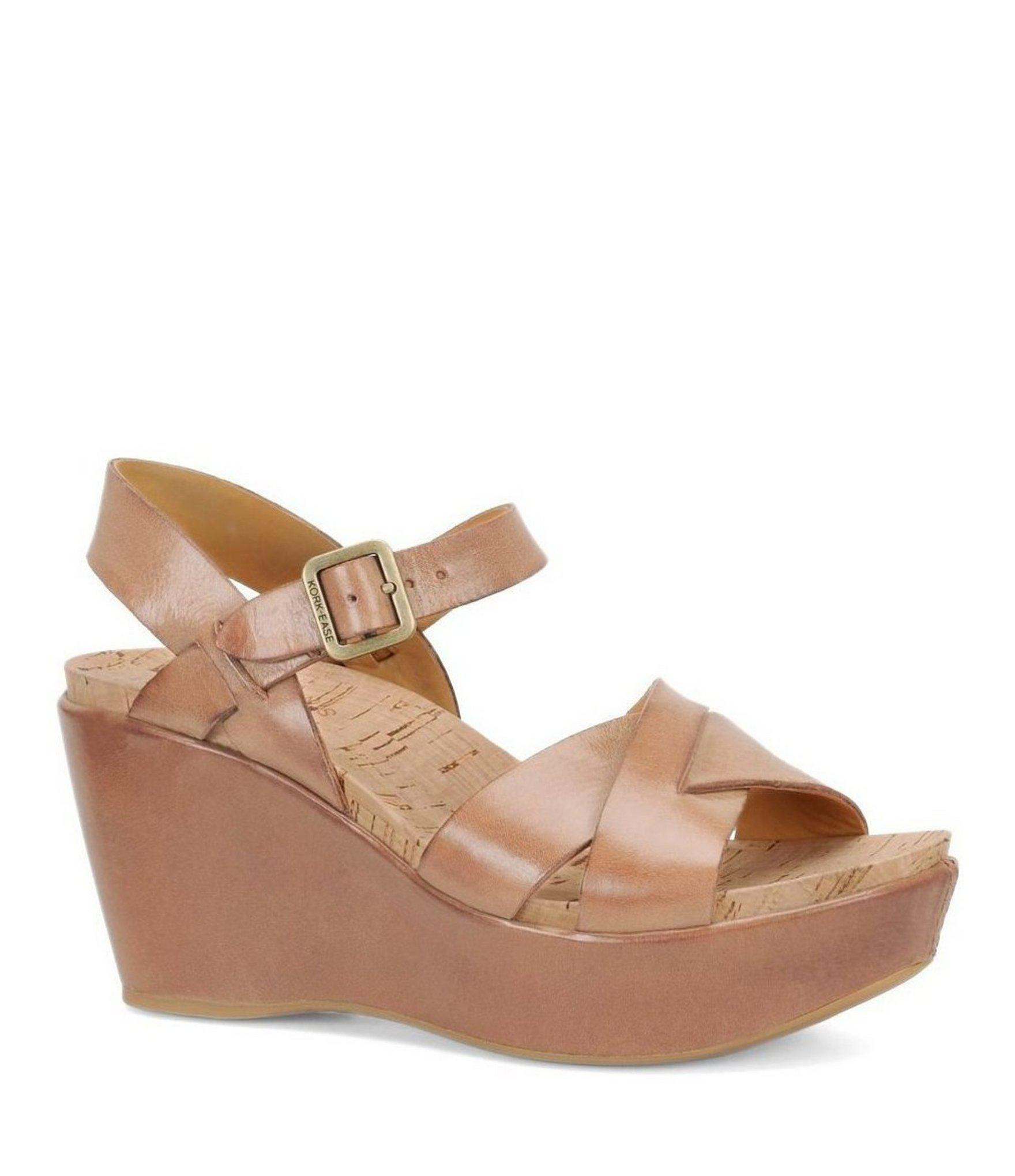 75fc215bb9c Lyst kork ease ava ankle strap wedge sandals jpg 1760x2040 Strap ease