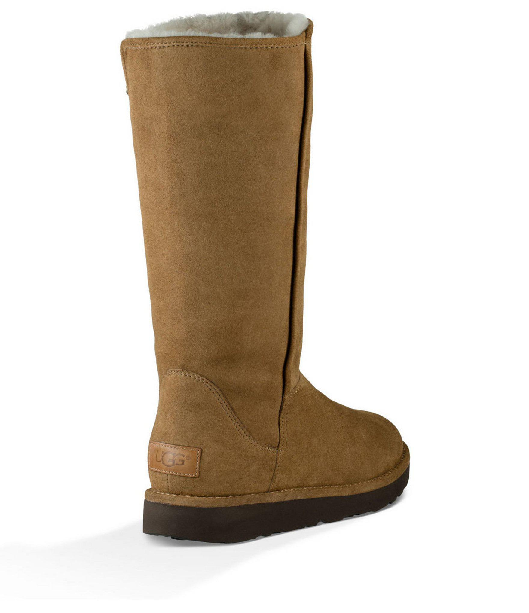db6b07a5ca1 Lyst - UGG ® Abree Ll Suede Pull On Tall Boots in Brown